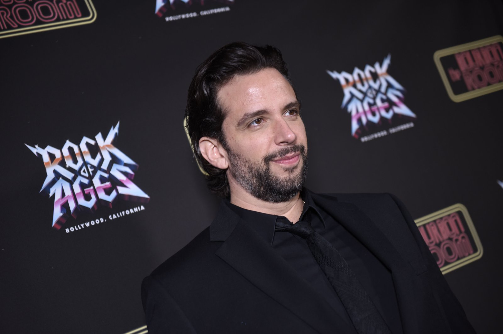 In this file photo Nick Cordero attends Rock of Ages Opening Night at the Bourbon Room in Hollywood, California on Jan. 15, 2020. (AFP Photo)