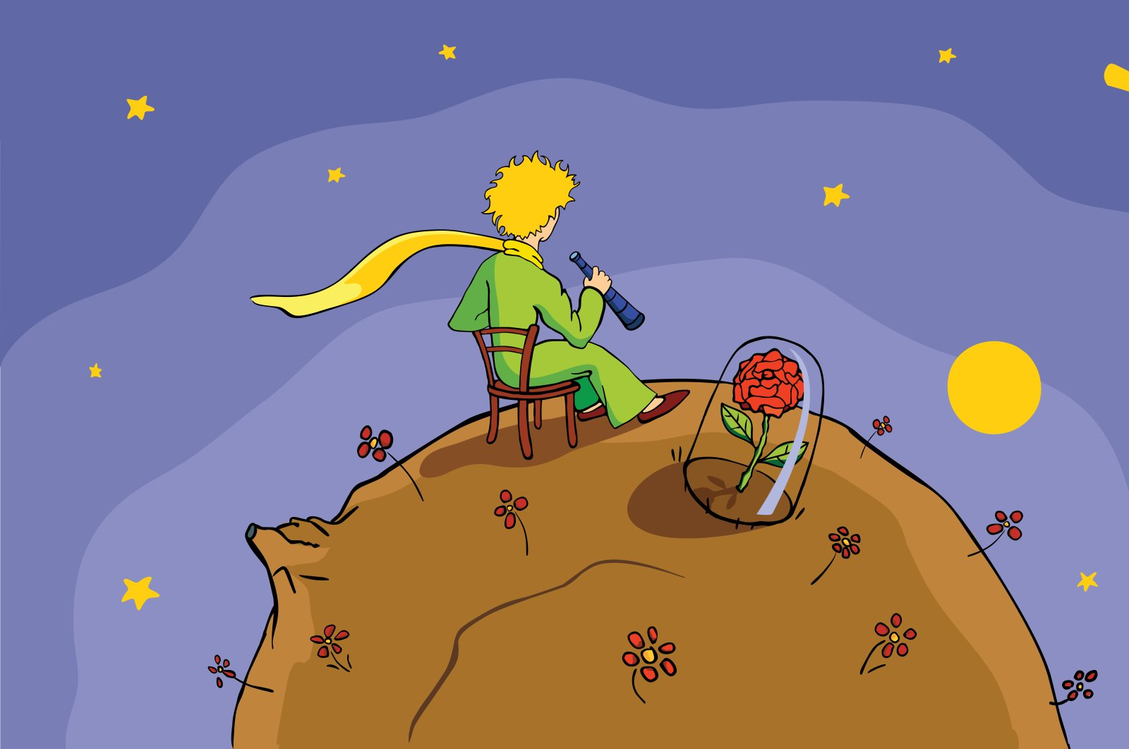 """""""The Little Prince"""" is the beloved story written by French writer and pilot Antoine de Saint-Exupery in 1943 in the U.S. (Shutterstock Photo)"""