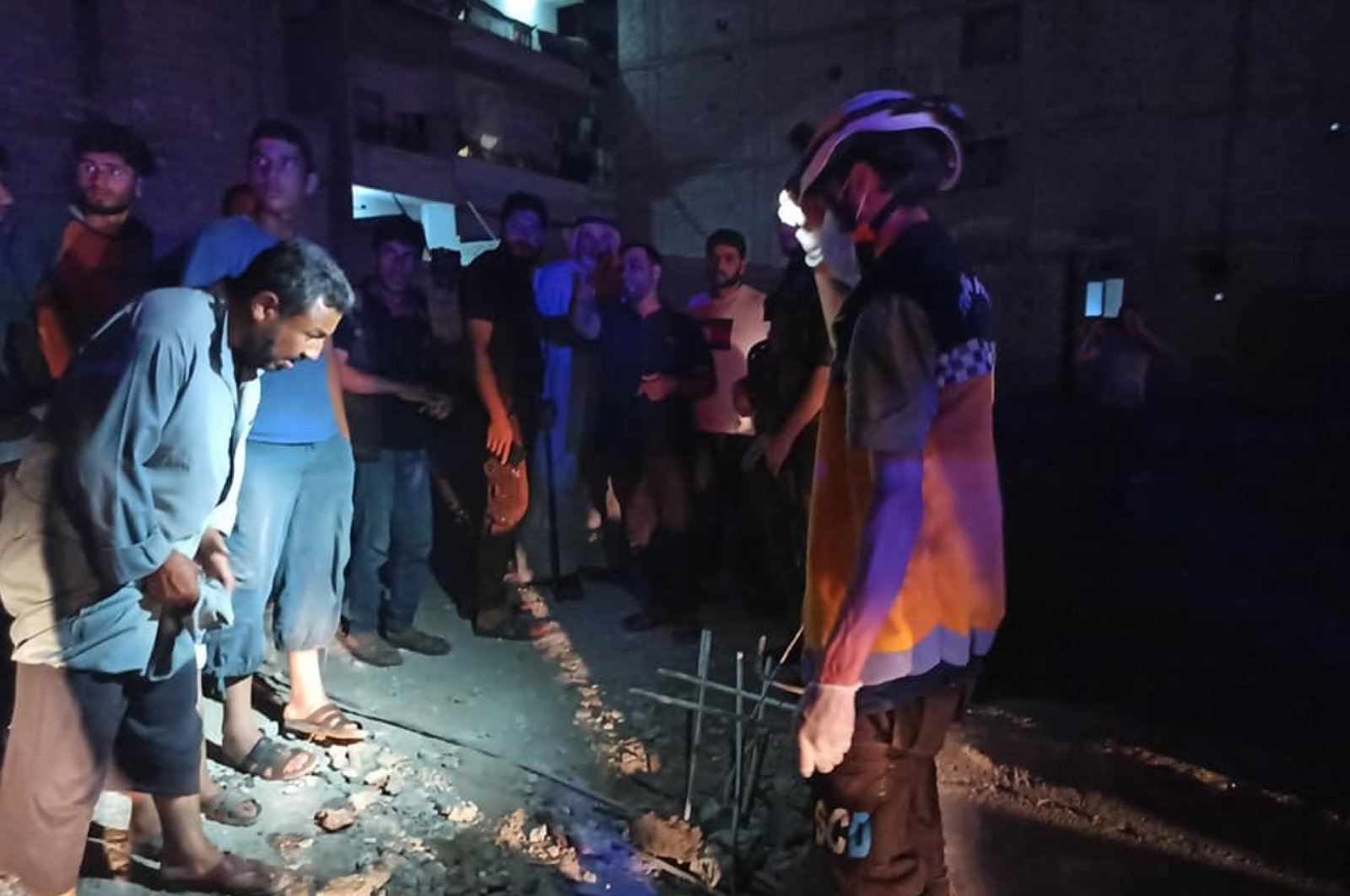 In a previous terrorist attack on July 3, 2020, an explosion in Syria's northern Afrin province killed one civilian and injured two others. (IHA Photo)