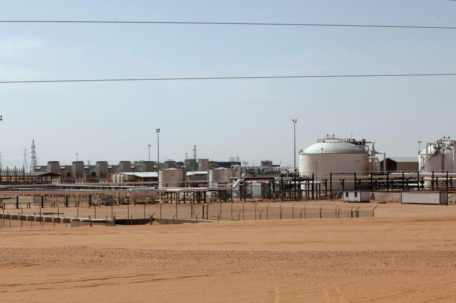 A general view of El Sharara oilfield in Libya, Dec. 3, 2014. (Reuters Photo)