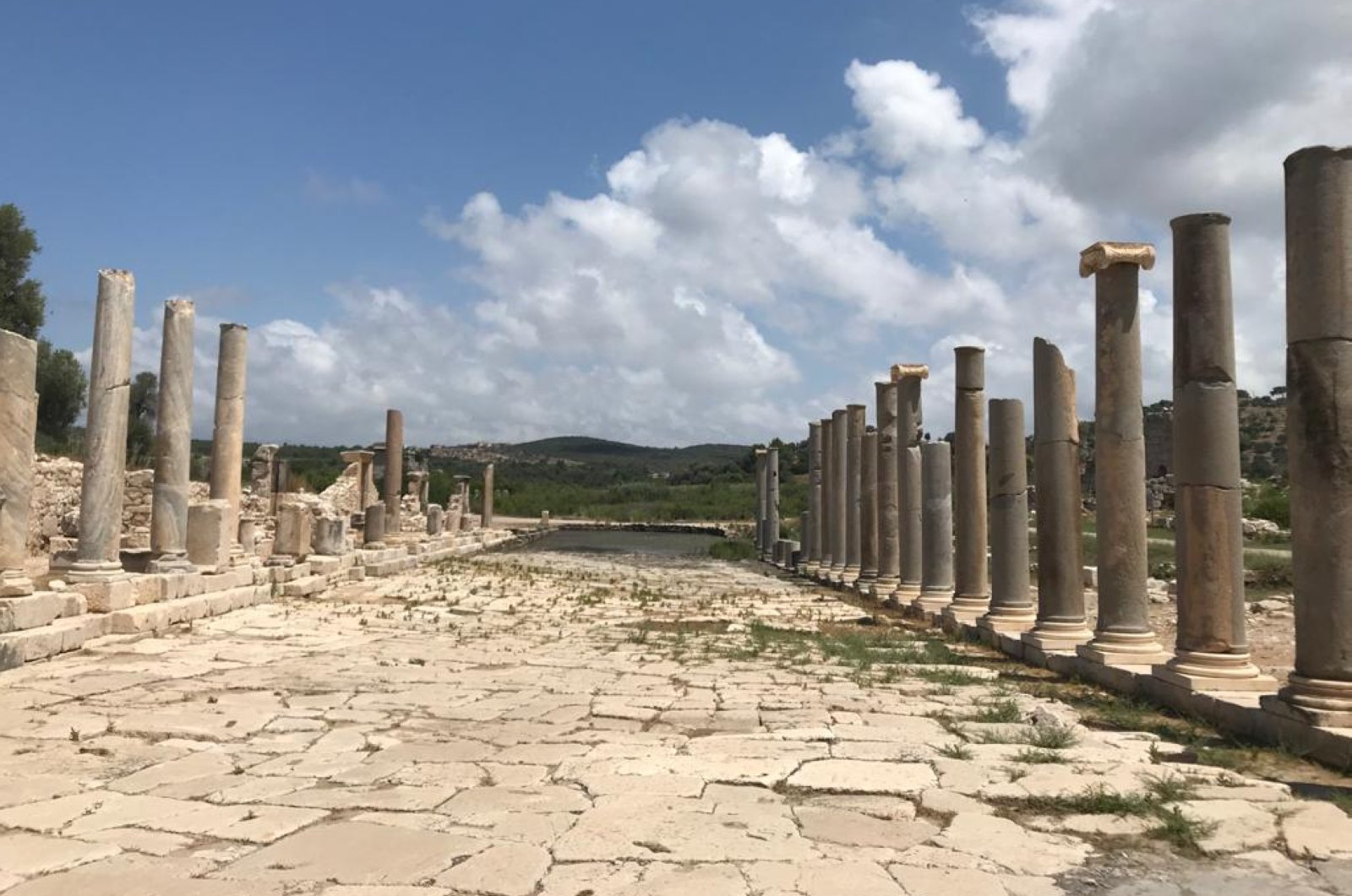 A view of the ancient city of Patara in Antalya, Turkey, July 6, 2020. (AA Photo)
