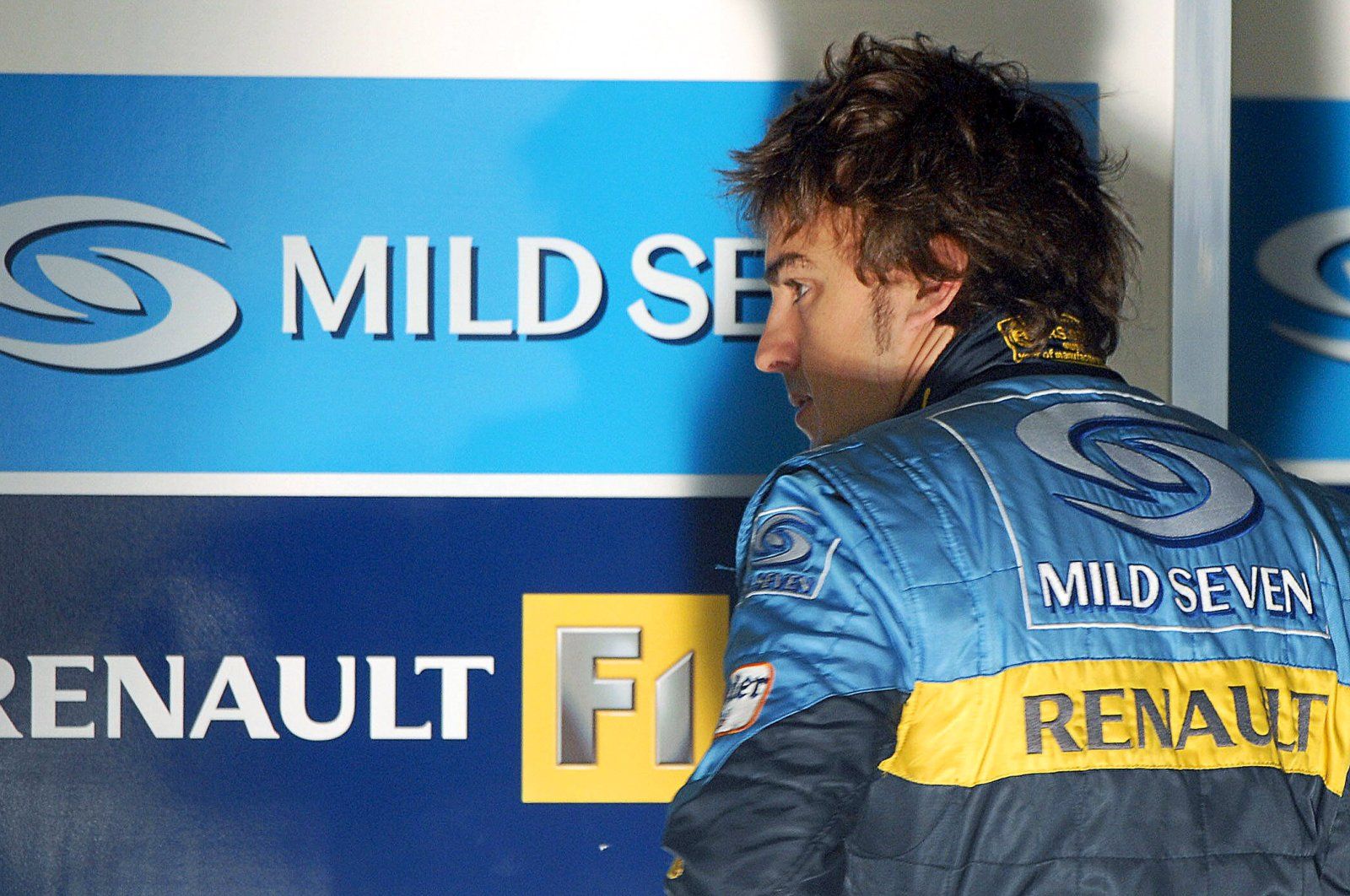 Fernando Alonso during an F1 free training session in Cadiz, Spain, July 21, 2006. (EPA Photo)