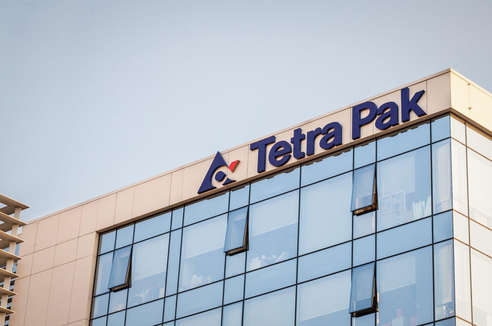 The Tetra Pak logo is seen on the company's headquarters in Belgrade, Serbia, Sept. 23, 2018. (iStock Photo)
