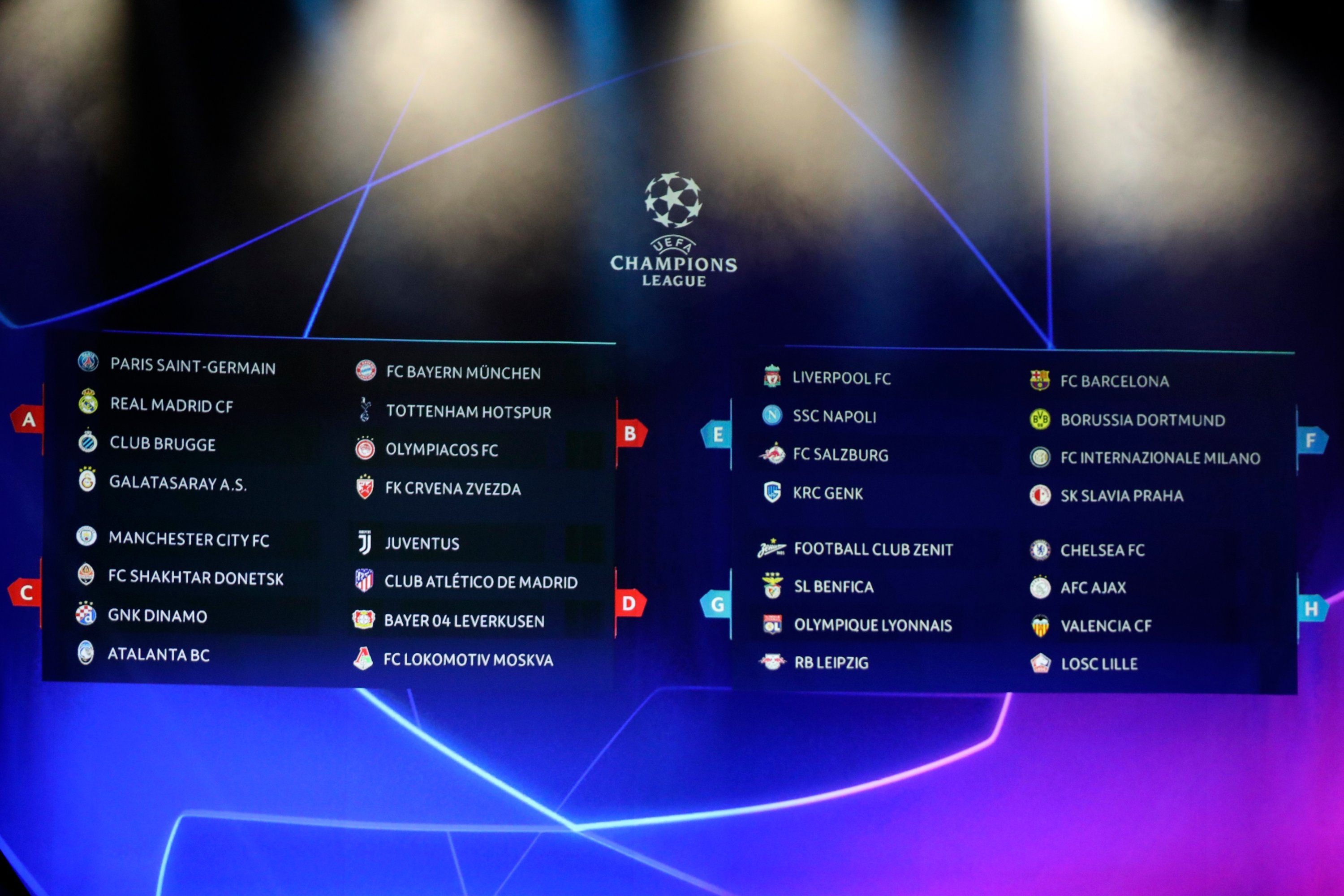 Champions League Draw To Be Held Friday Daily Sabah