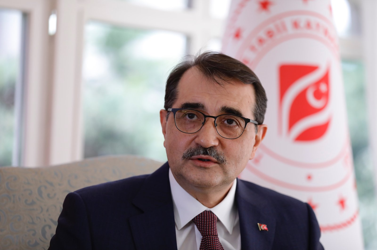 Energy and Natural Resources Minister Fatih Dönmez. (DHA Photo)