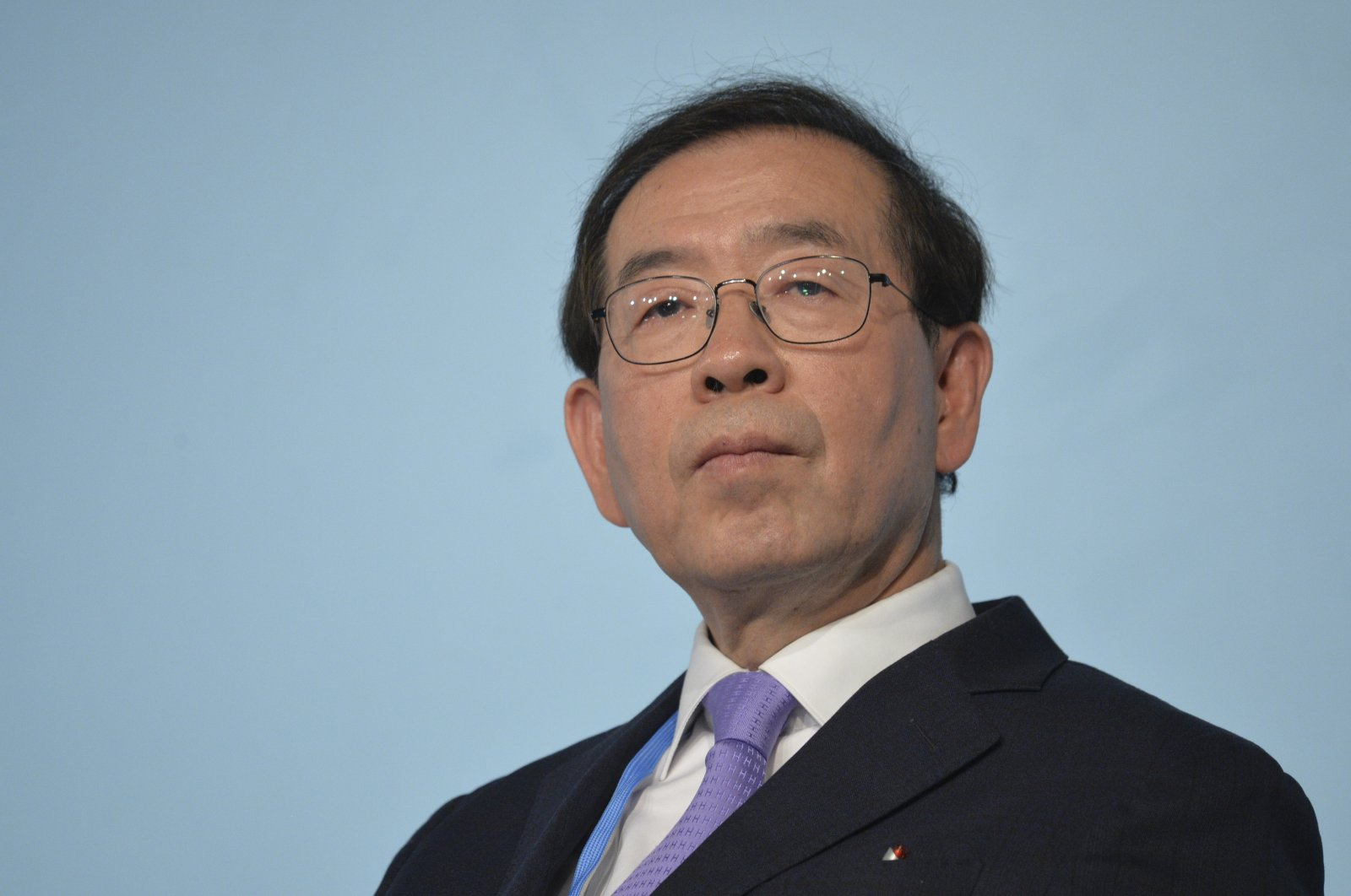 Park Won-soon, mayor of Seoul, attends a panel discussion during the U.N. Climate Change Conference COP23 in Bonn, Germany, Nov. 13, 2017. (EPA File Photo)