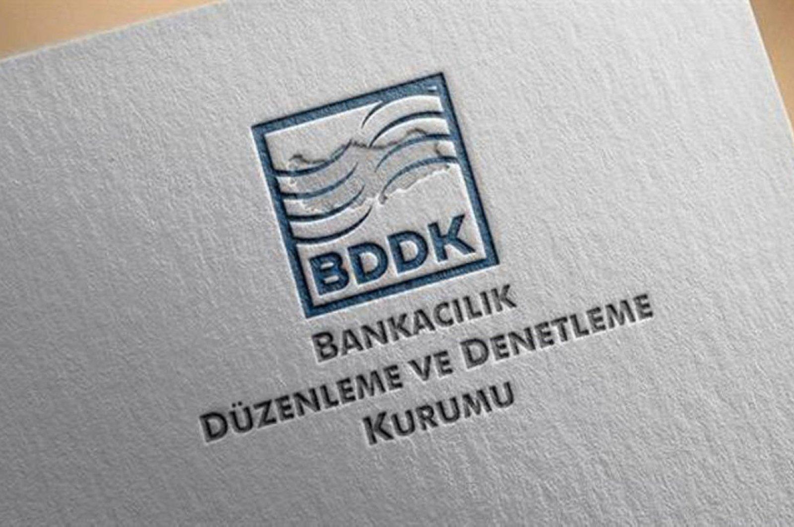 The BDDK logo seen in a file photo.