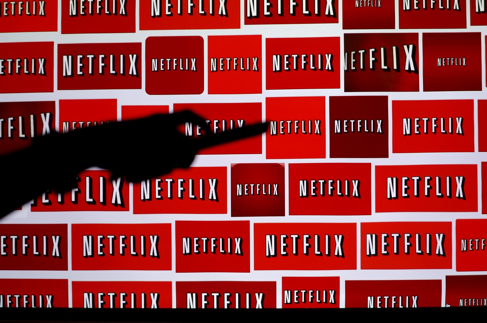 The Netflix logo is shown in this illustration photograph in Encinitas, California on Oct. 14, 2014. (Reuters Photo)