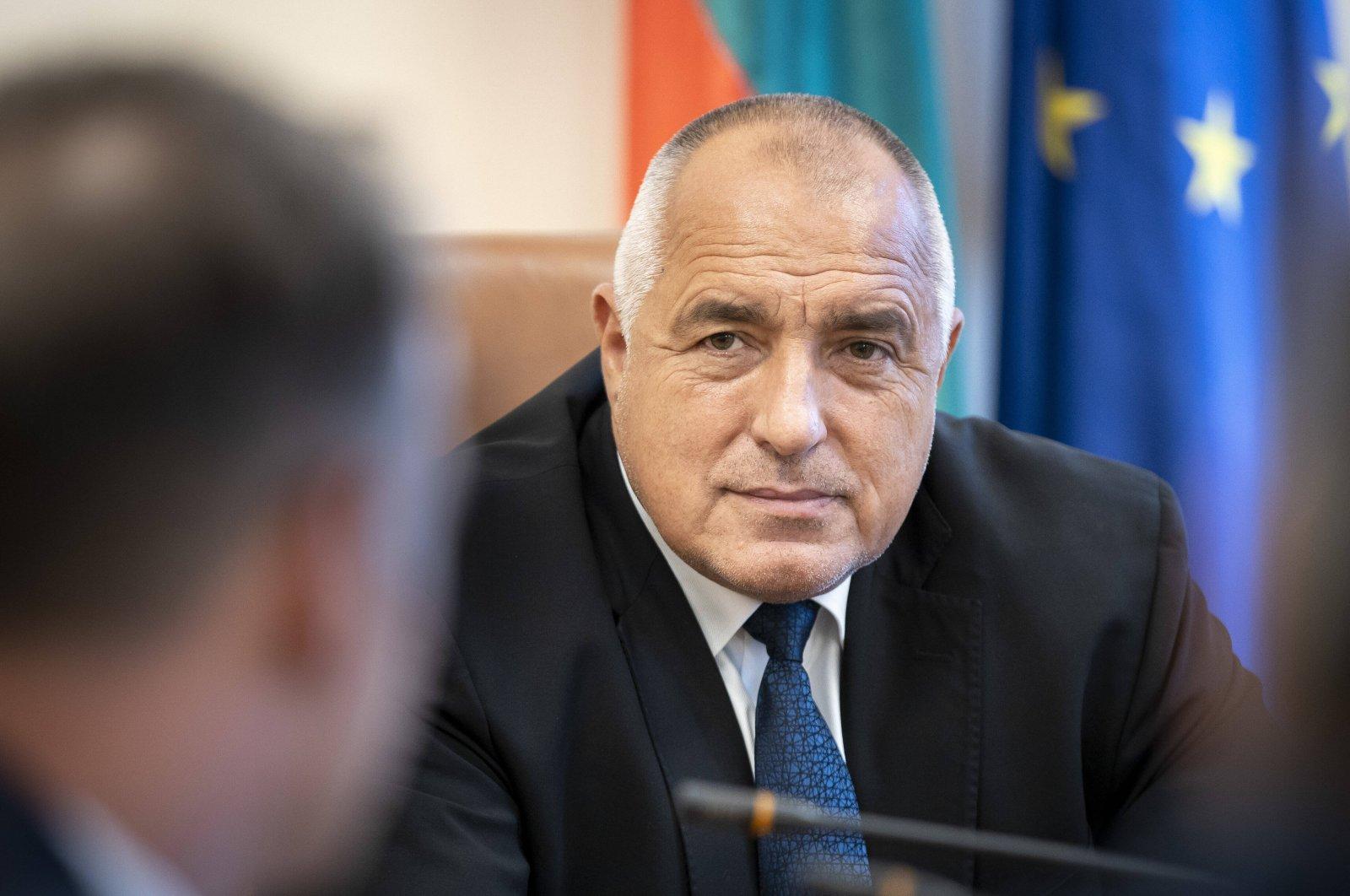 Boyko Borissov, Prime Minister of Bulgaria in Sofia June 18, 2020. (Reuters Photo)