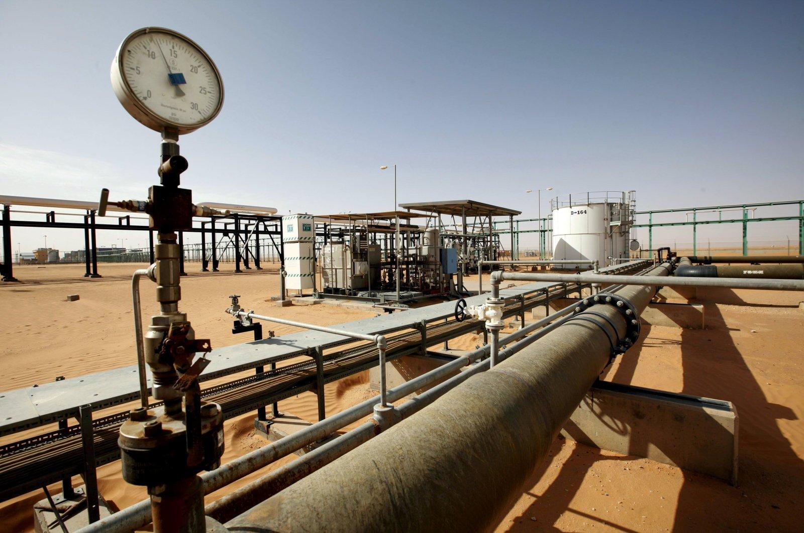A general view of the El Sharara oil field, Libya, Dec. 3, 2014. (REUTERS File Photo)