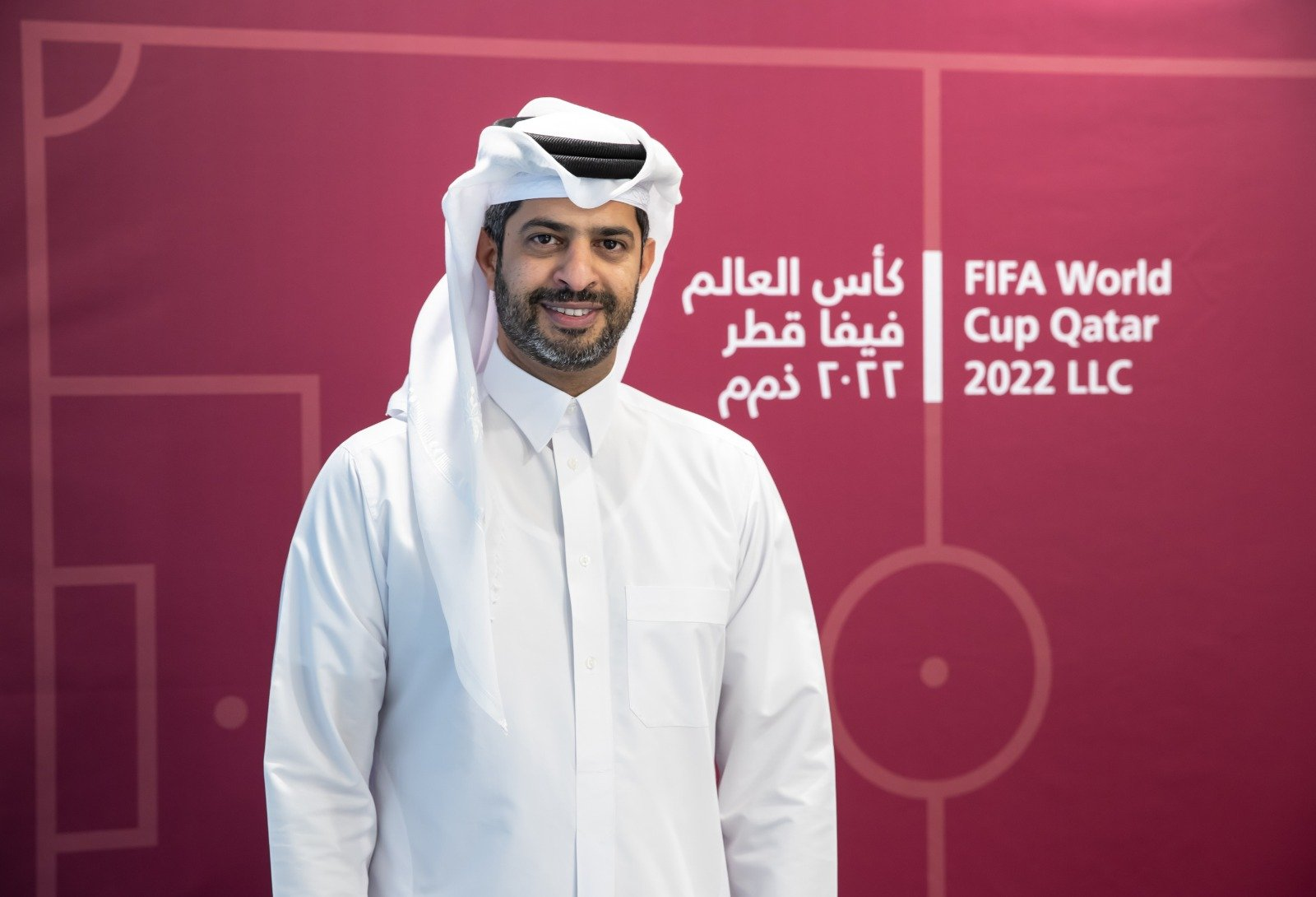 Nasser al-Khater, the CEO of the FIFA World Cup Qatar 2022 LLC.