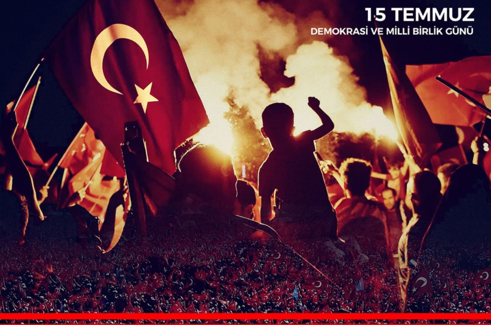 A poster of the events to be held by the Ministry of Culture and Tourism to mark the fourth anniversary of the July 15, 2016, coup attempt. (Courtesy of Ministry of Culture and Tourism)