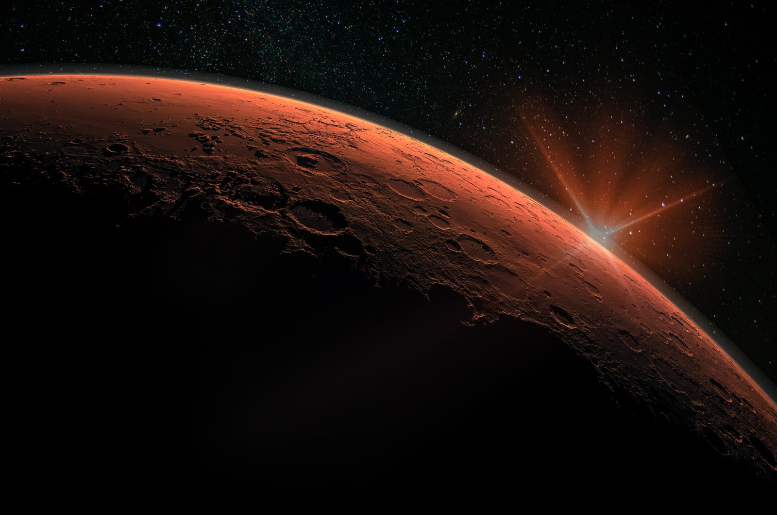 "These three countries are using a ""launch window"" to continue the hunt for life on the Red Planet. (Shutterstock Photo)"