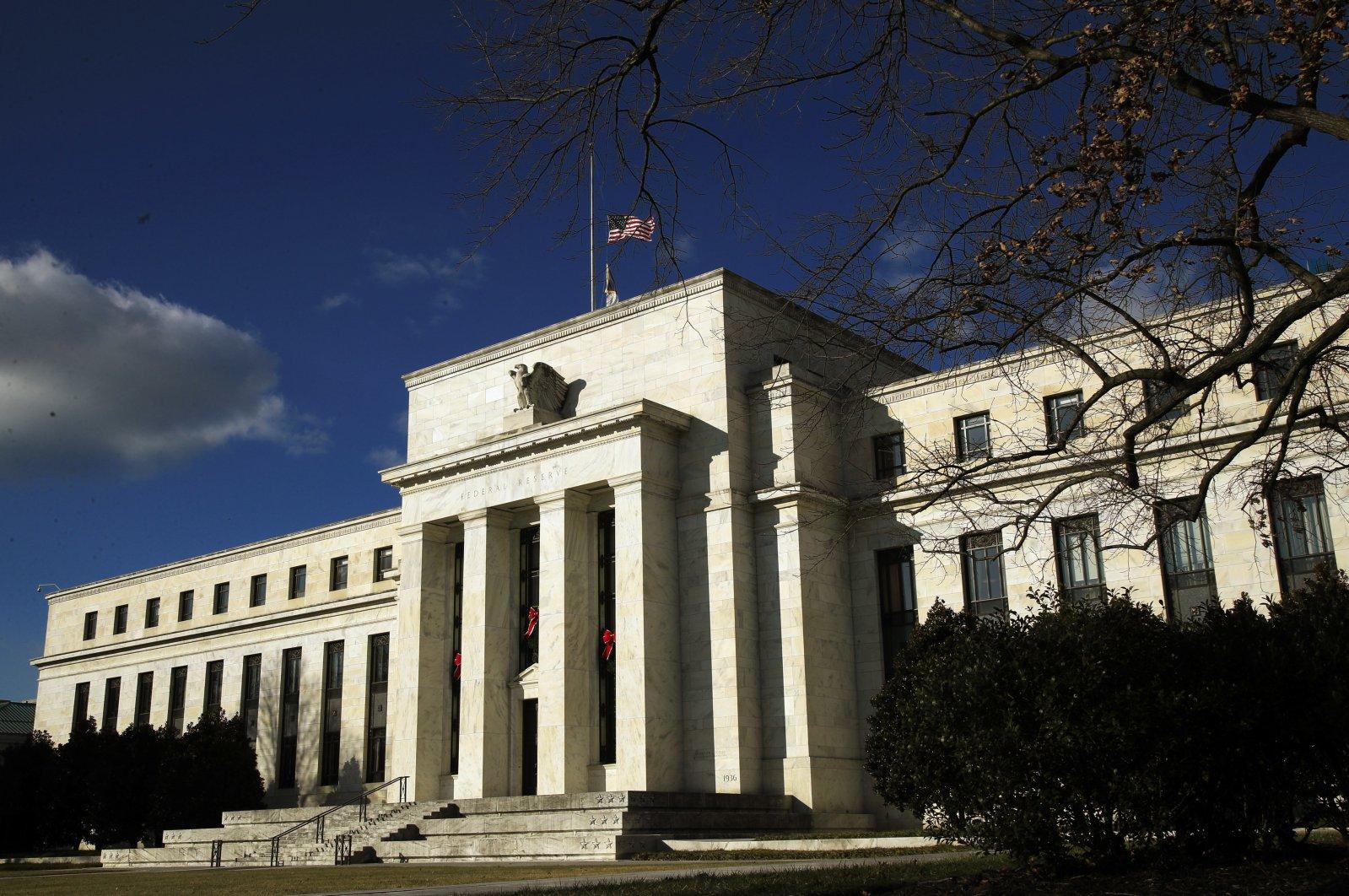 The Federal Reserve building in Washington, D.C., Dec. 24, 2018. (AP Photo)