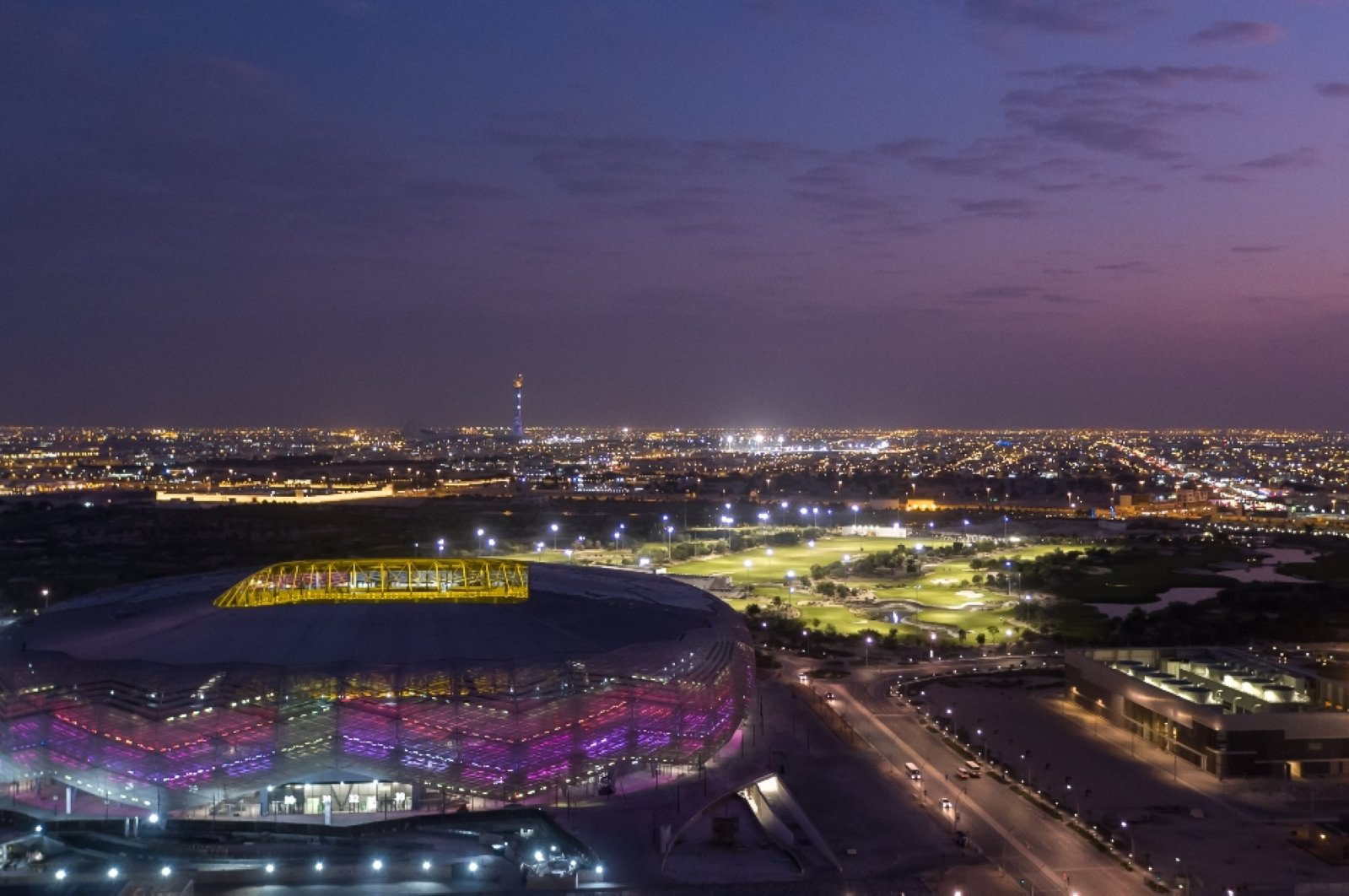 Qatar has reached 85% completion across the construction portfolio for the World Cup, said Nasser al-Khater, CEO of the FIFA World Cup Qatar 2022 LLC. (Courtesy of FIFA World Cup Qatar 2022 LLC)