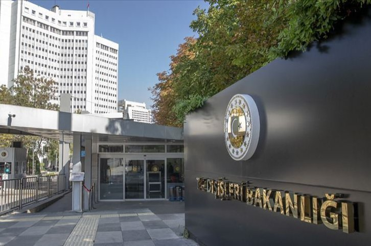 The headquarters of Turkey's Foreign Ministry in Ankara. (File Photo)