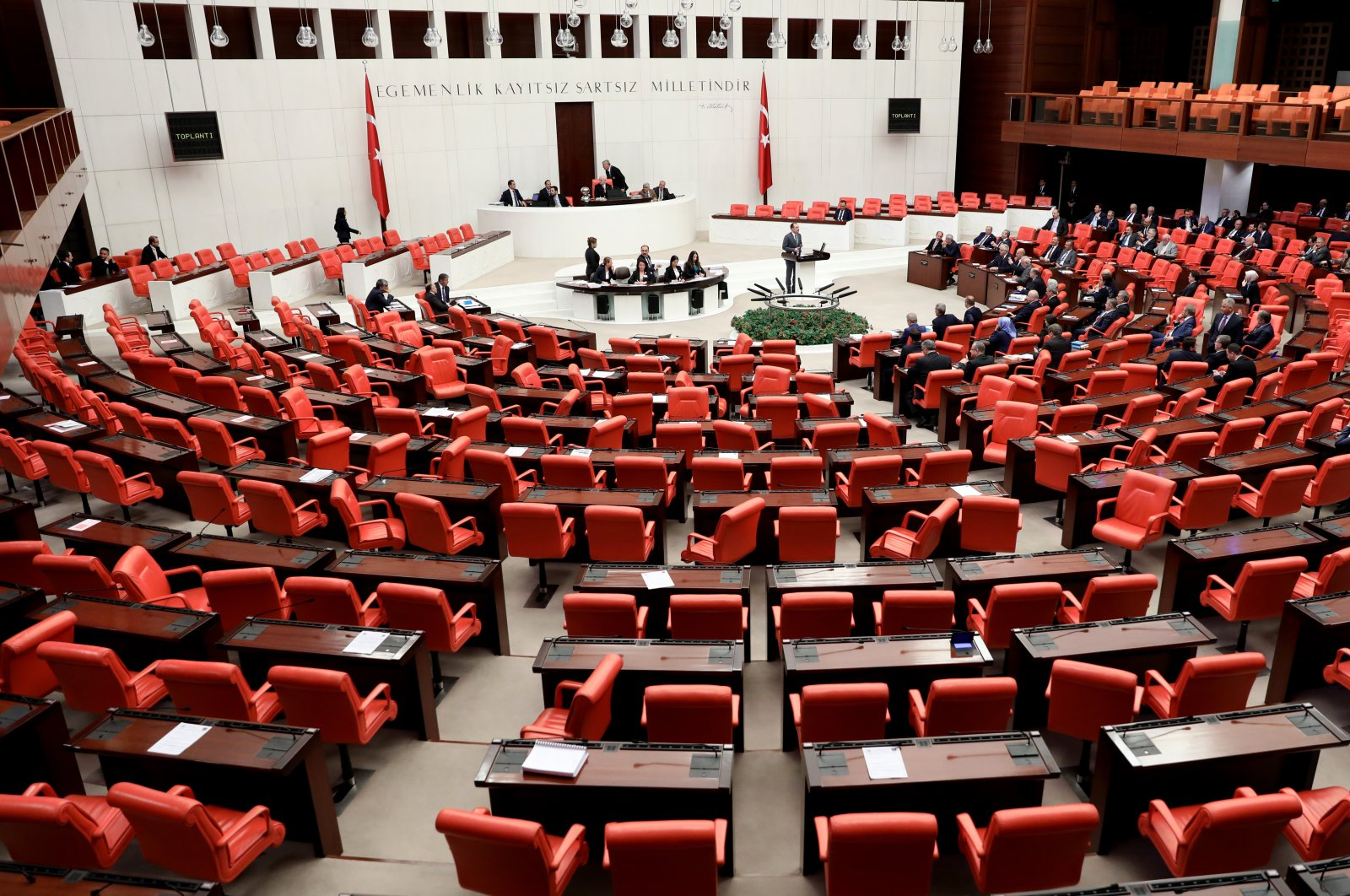 General Assembly of the Turkish Parliament on April 4, 2018 (AA File Photo)