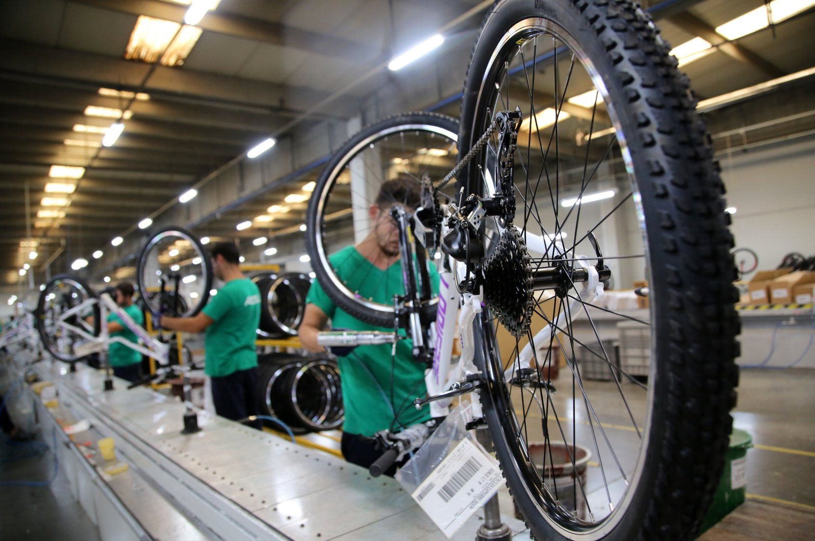 Exports of Turkish two-wheeler products in 2019 surged by 37% to around $63.8 million. (AA Photo)