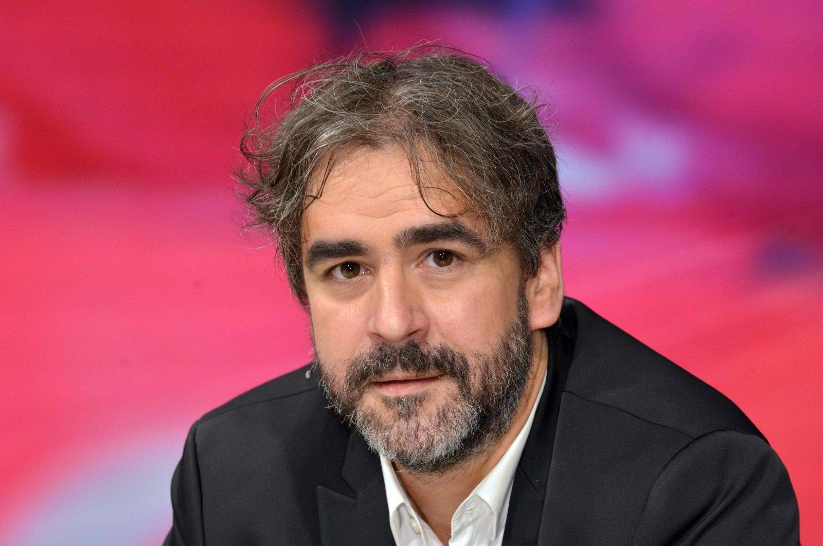 Deniz Yücel attends a TV show, in Berlin, Germany, July 21, 2016. (AFP Photo)