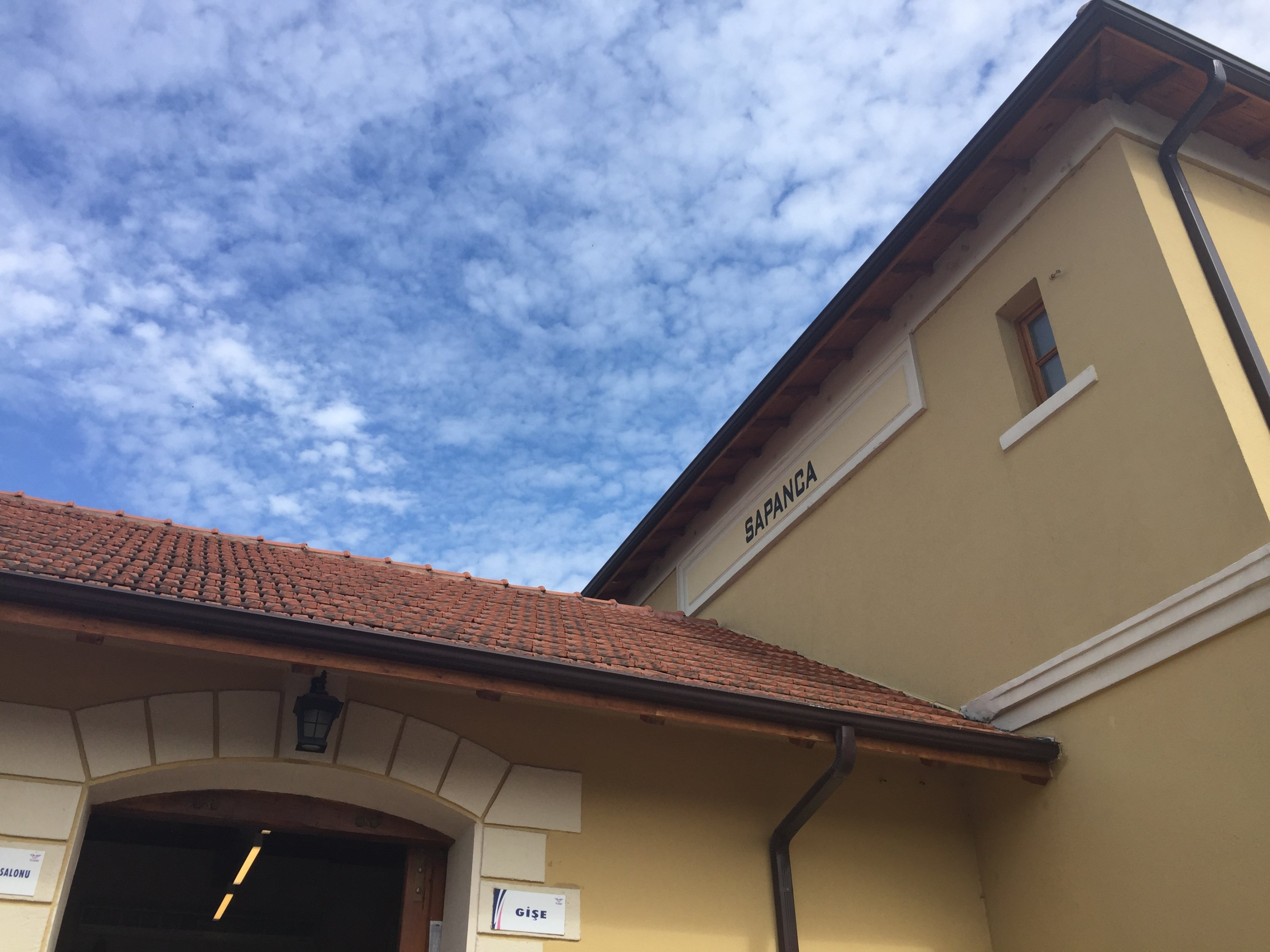 The train station in Sapanca. (Photo courtesy of Allison Tinch)