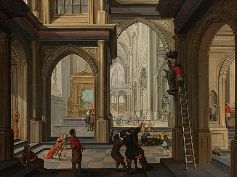 Dutch painter Dirck van Delen's