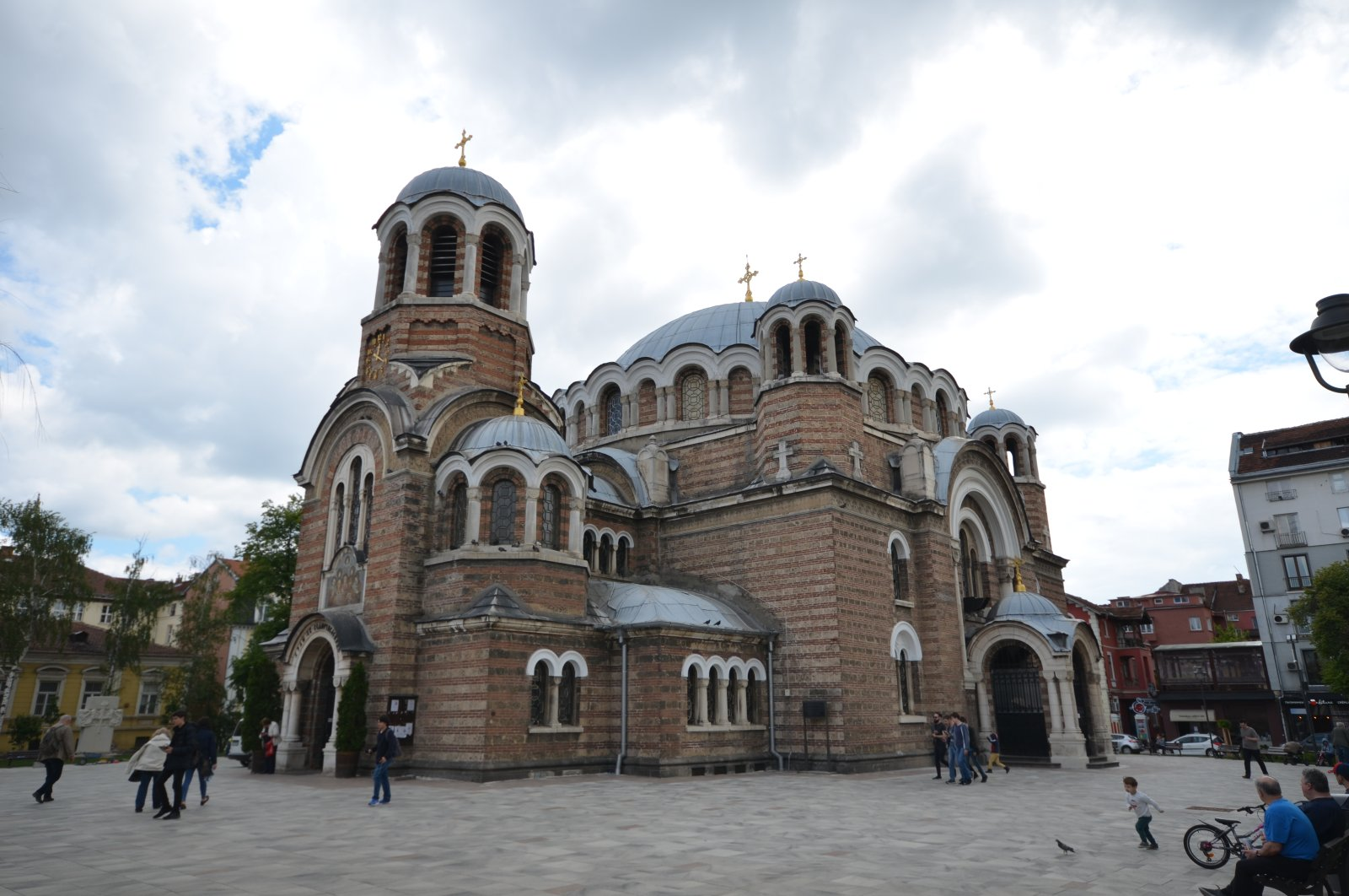 Mehmed Pasha Mosque, built by Mimar Sinan in Sofia and later turned into a church, is seen in this photo dated July 16, 2020 (AA PHOTO)