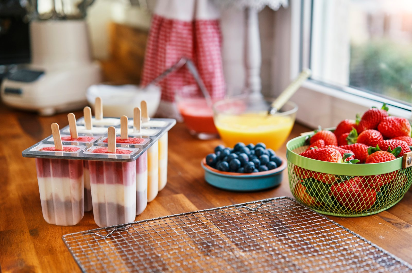 Making your own homemade yogurt popsicles is one of the easiest and healthiest ways to cool down. (iStock Photo)