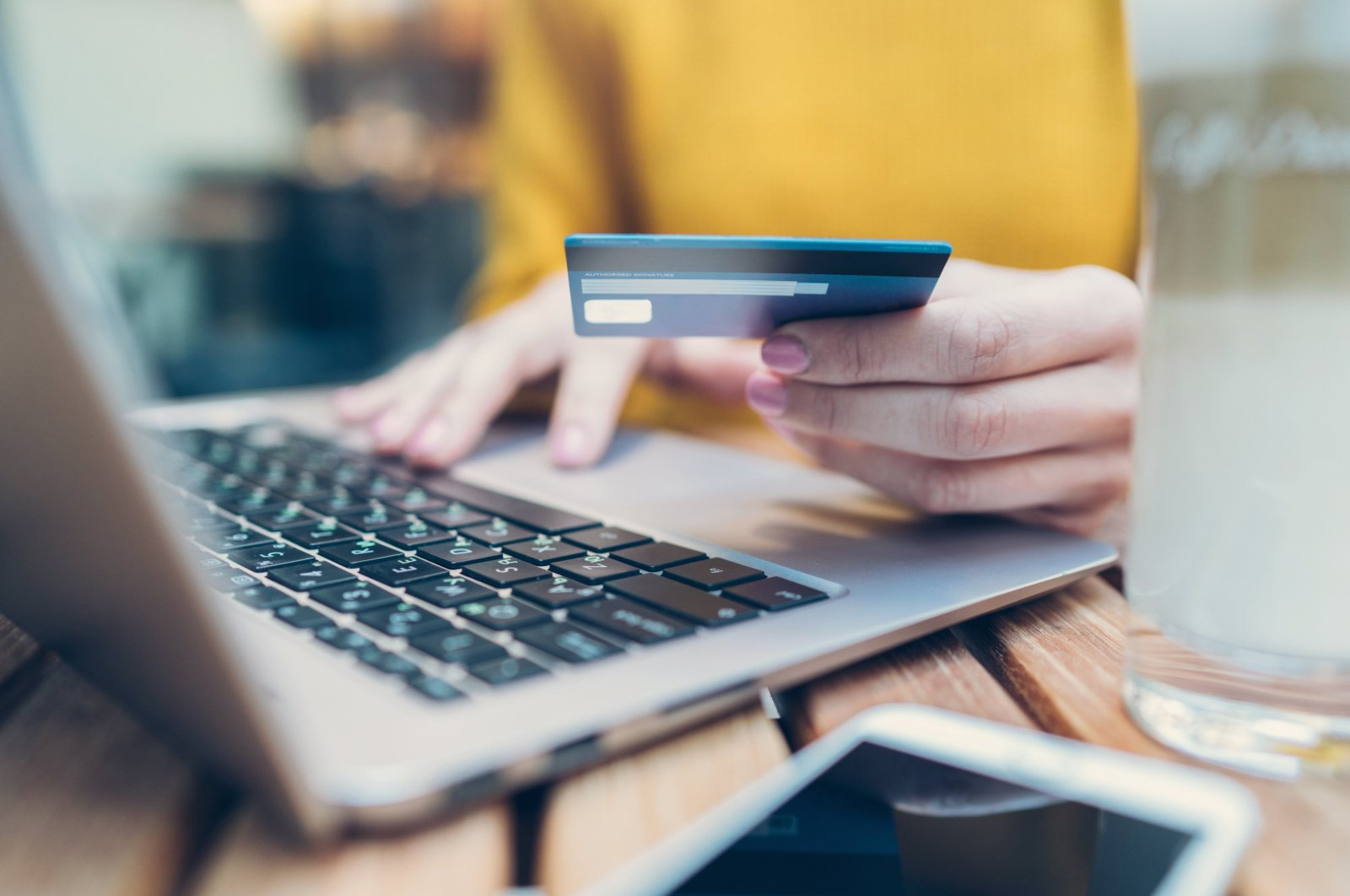 Contactless payments tripled to nearly 563 million transactions in the first half of 2020. (Stock Photo)