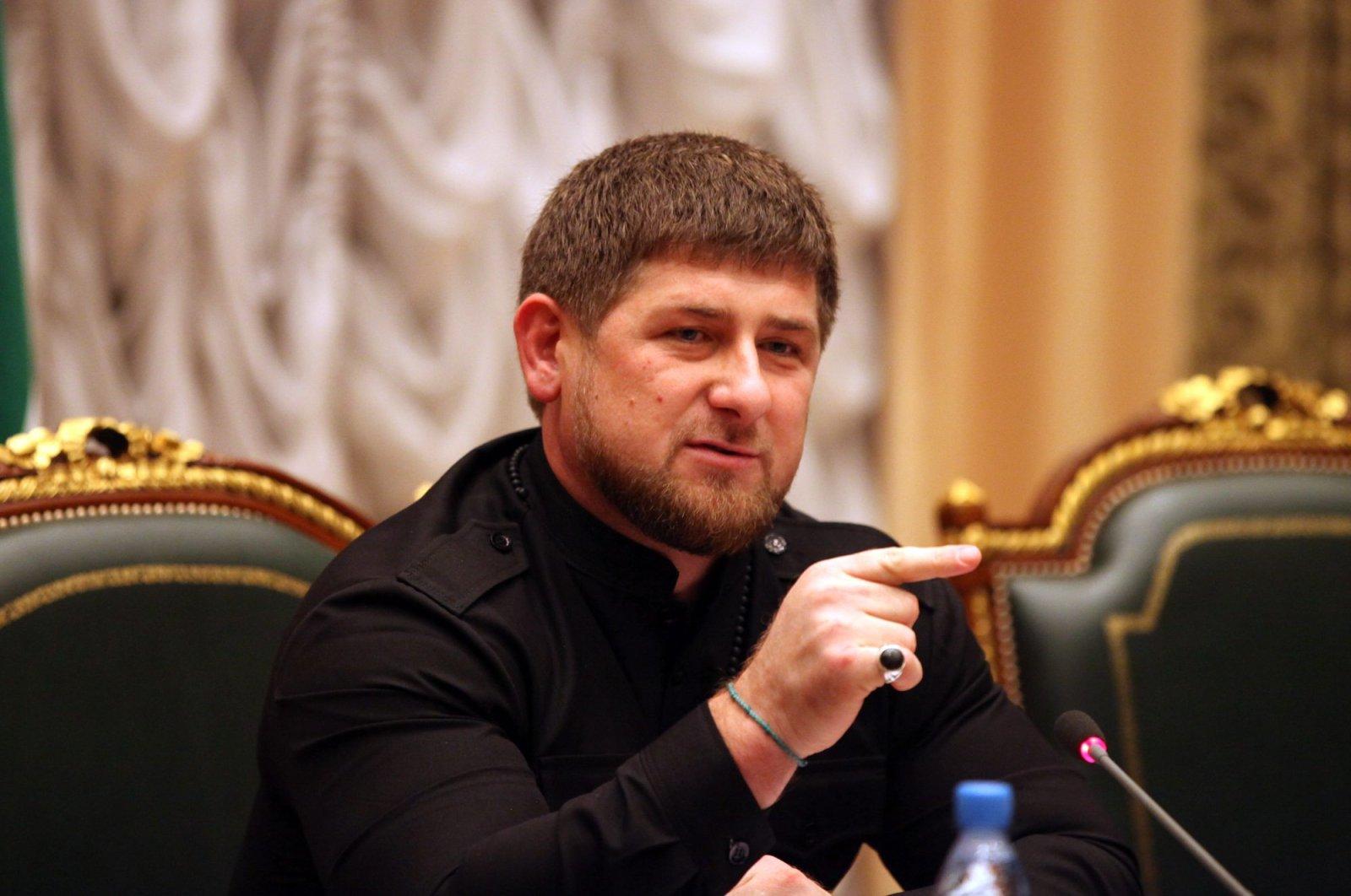 Chechen strongman Ramzan Kadyrov (Sabah Photo)