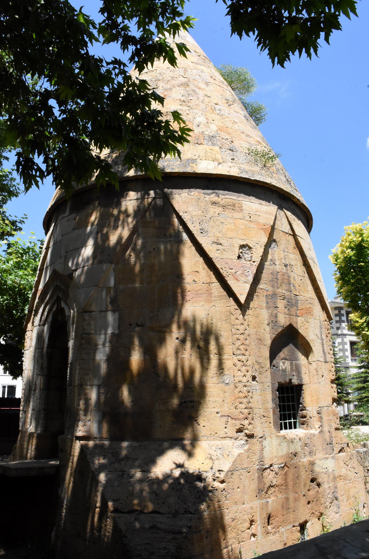 The Melikgazi Tomb in Yenice district, Kırşehir, central Turkey, July 17, 2020. (AA Photo)