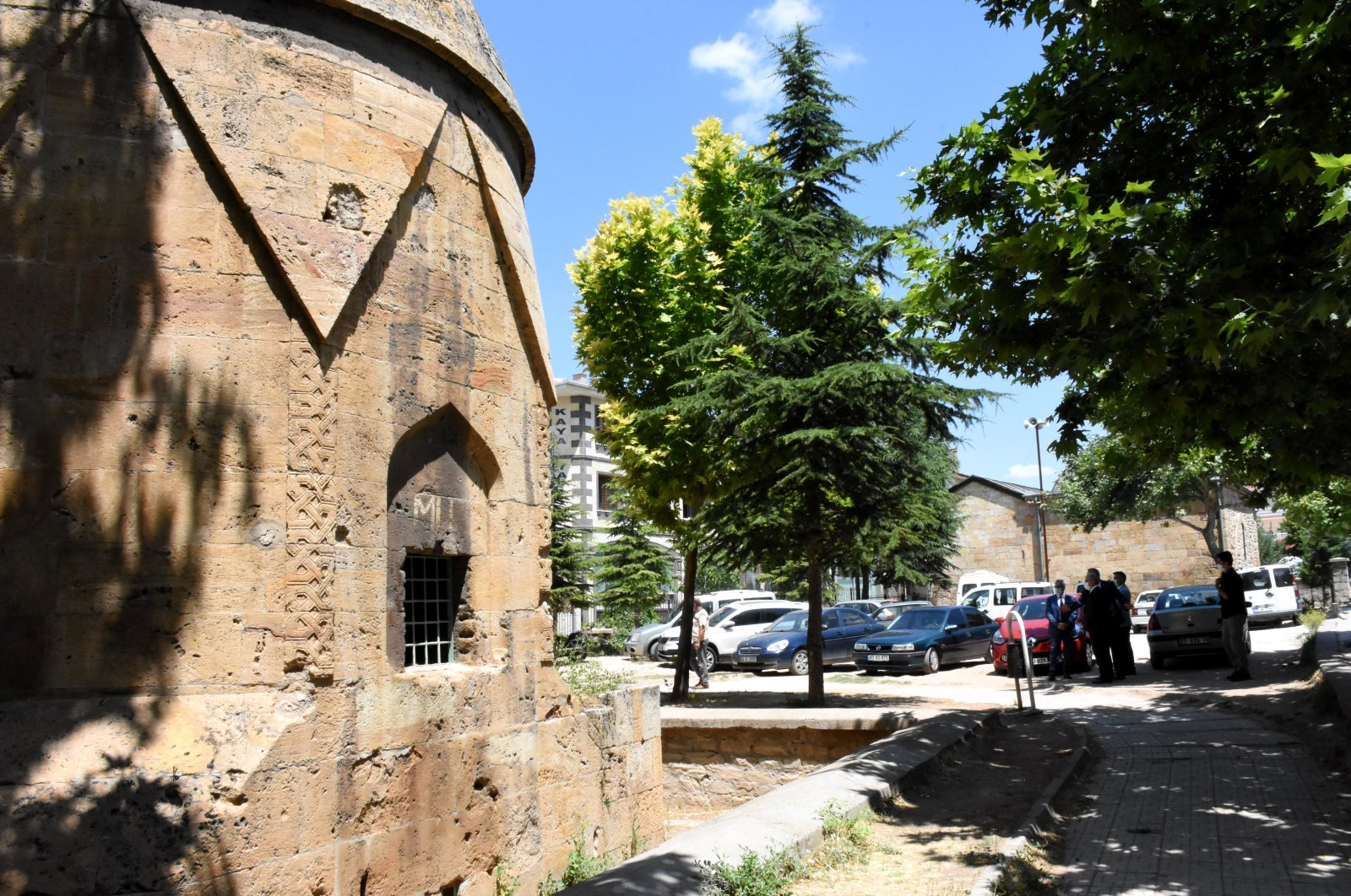 The Melikgazi Tomb is located behind the Lale Mosque in Yenice district, Kırşehir, central Turkey, July 17, 2020. (AA Photo)
