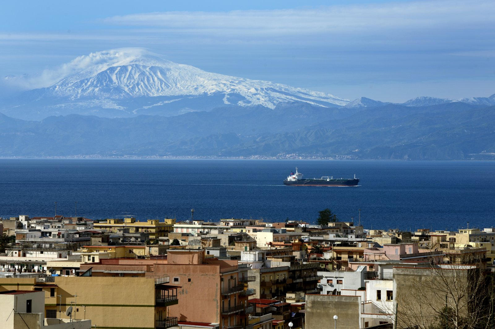 A view of Reggio Calabria, the main city of Calabria in this undated photo. (Reuters Photo)