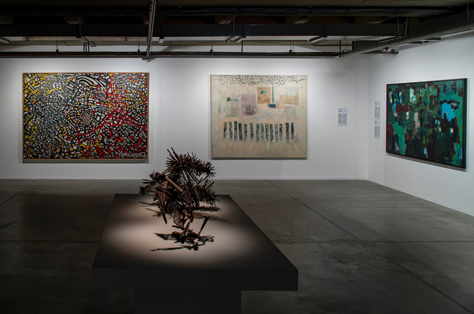 A view from the collection exhibition at Istanbul Modern. (Photo courtesy of Istanbul Modern)
