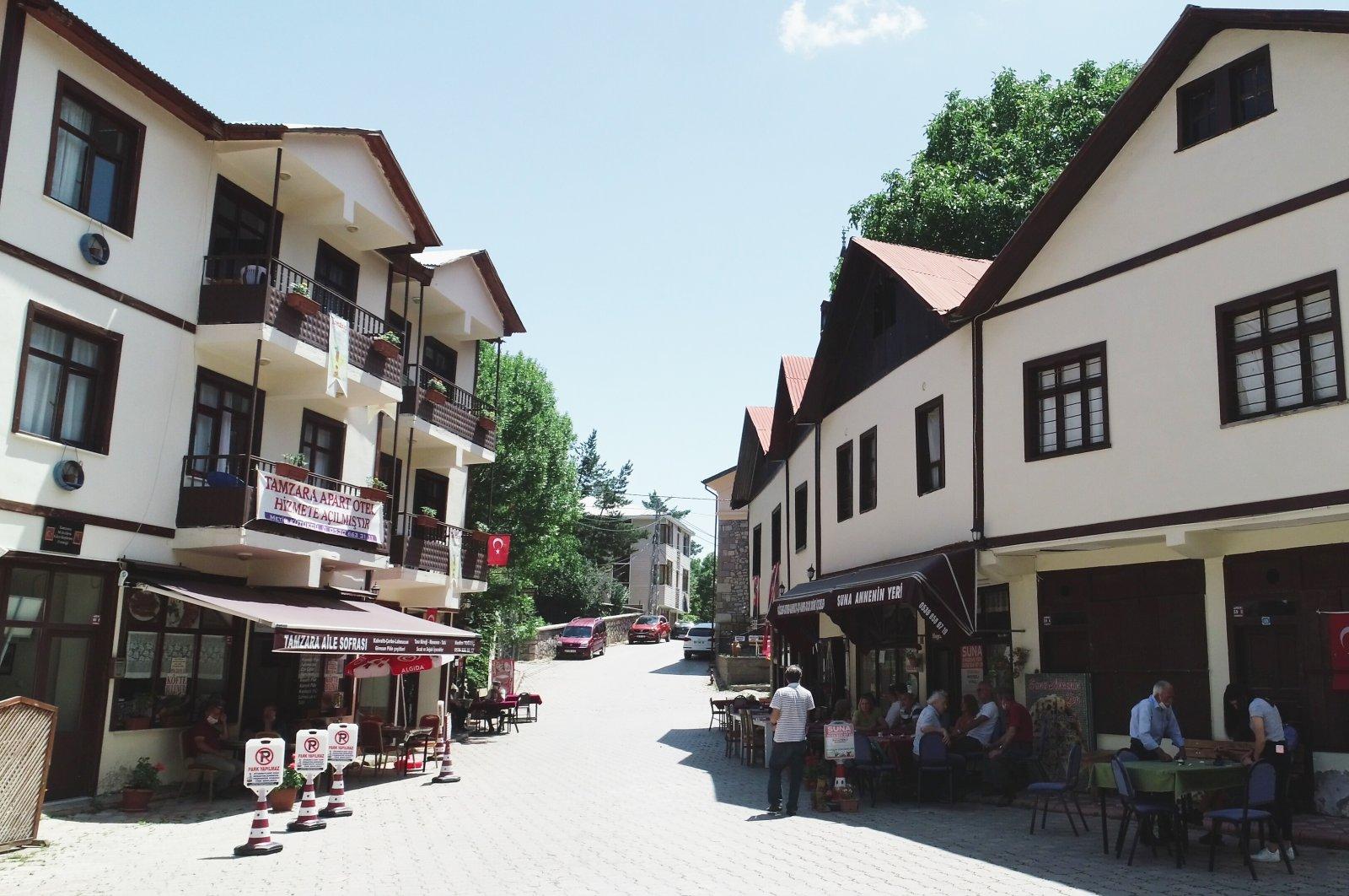 A view of the Tamzara neighborhood in Giresun, northern Turkey, July 18, 2020. (AA Photo)