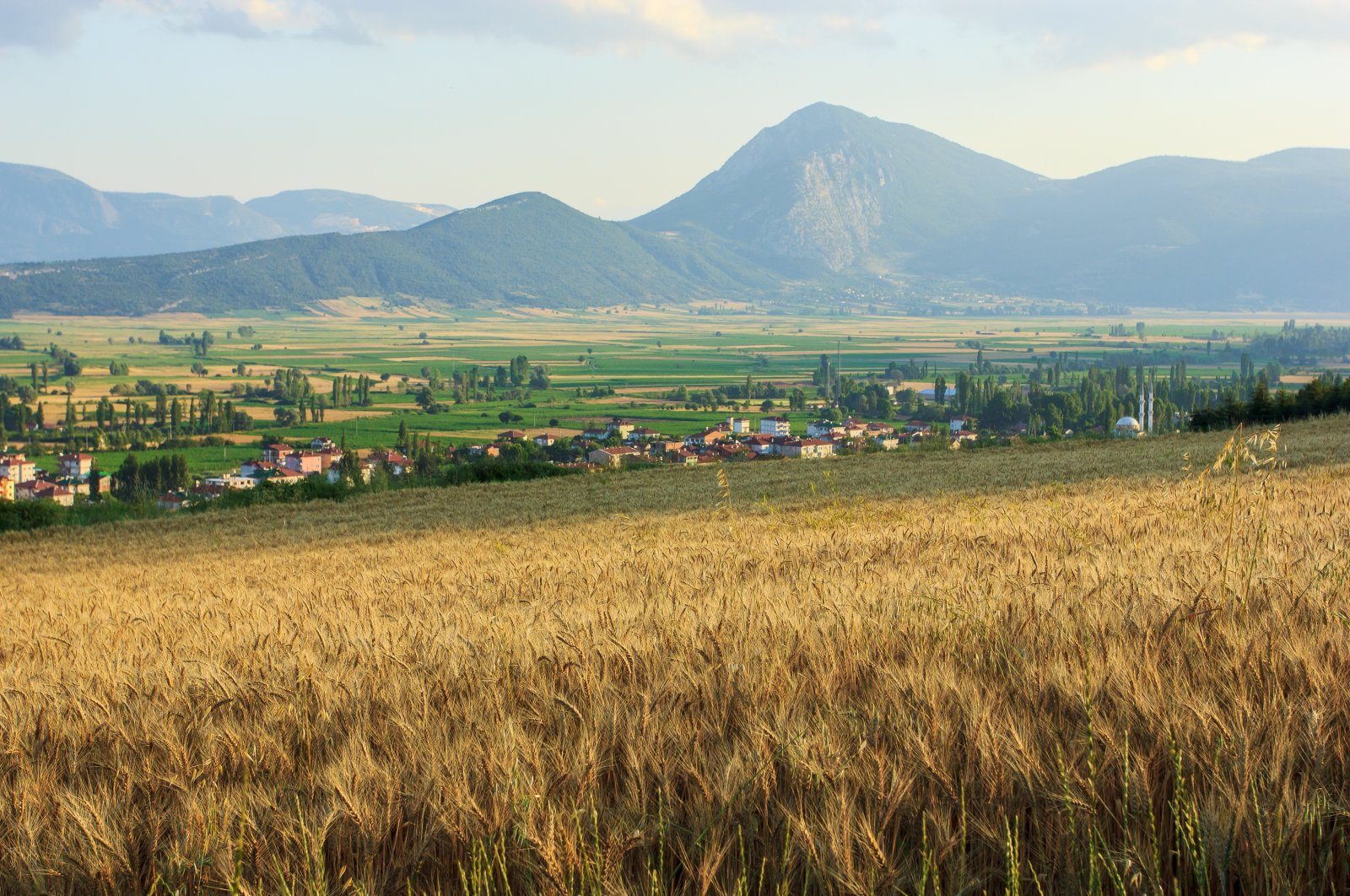 With high plateaus in the backdrop, the countryside near the Gölpazarı district in northwestern Turkey's Bilecik province offers a peaceful respite from city life. (iStock Photo)