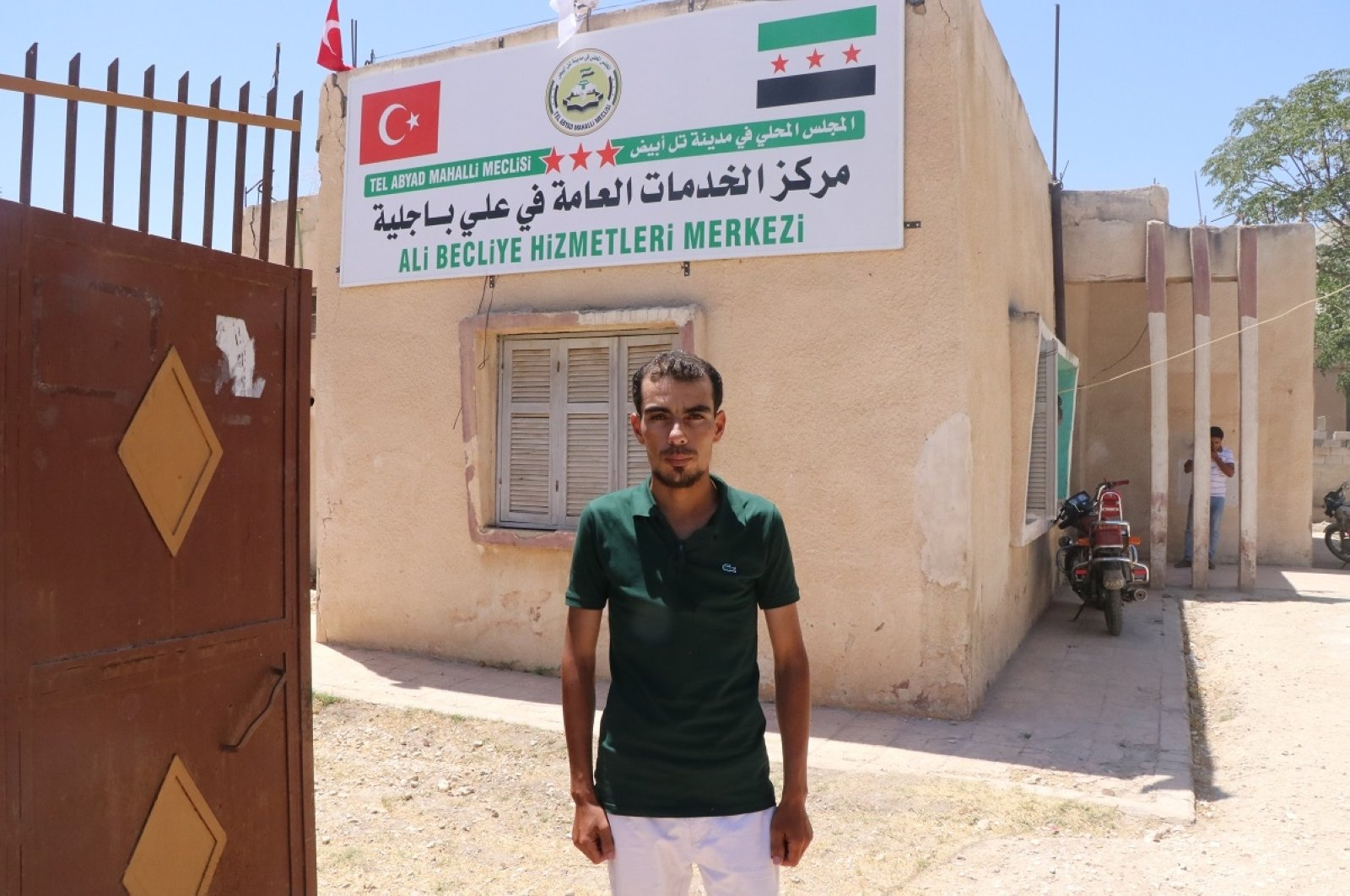 Turkey is providing public services to towns and villages in Syria's northern Tal Abyad district, July 22, 2020. (AA Photo)