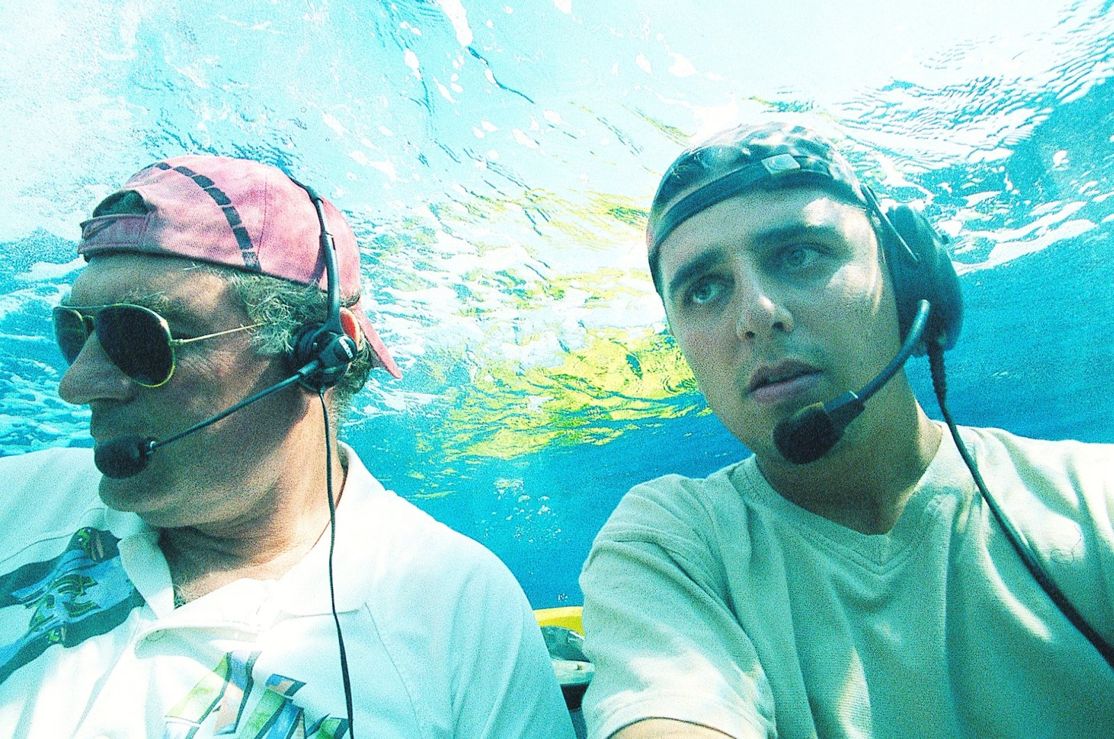 American George Fletcher Bass (L) is widely accepted as the father of underwater archaeology. (FILE Photo)