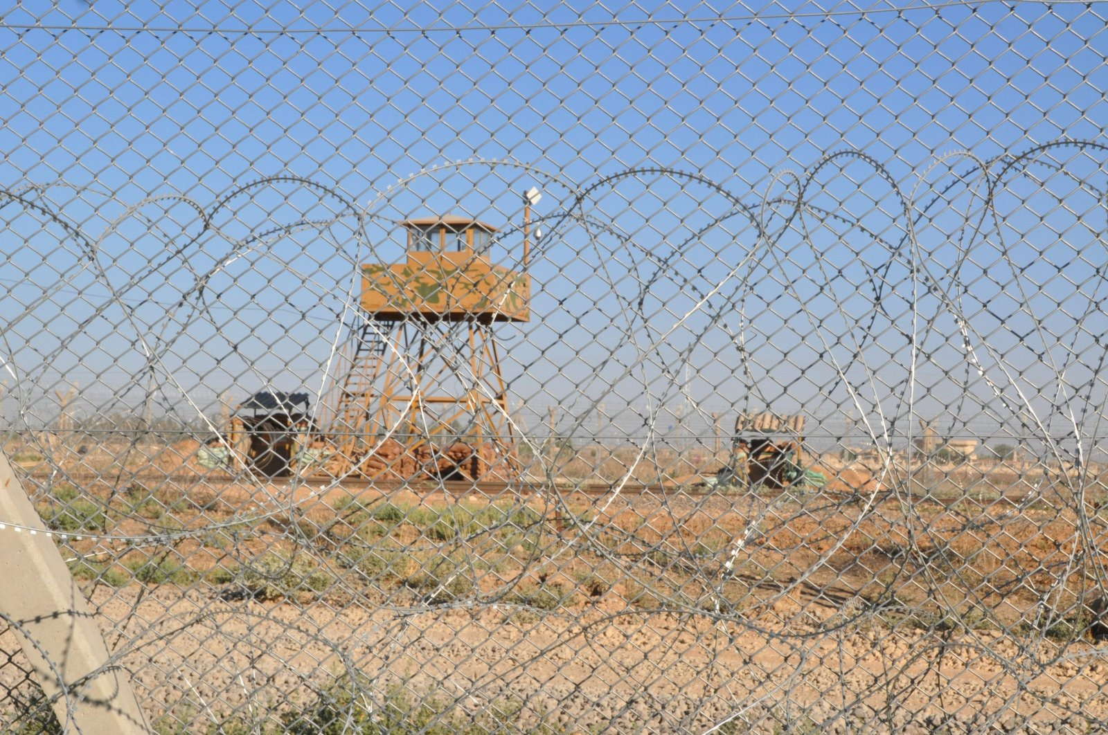 Syria's Ras al-Ain, near the Turkish border, can be seen in this undated file photo. (AA Photo)
