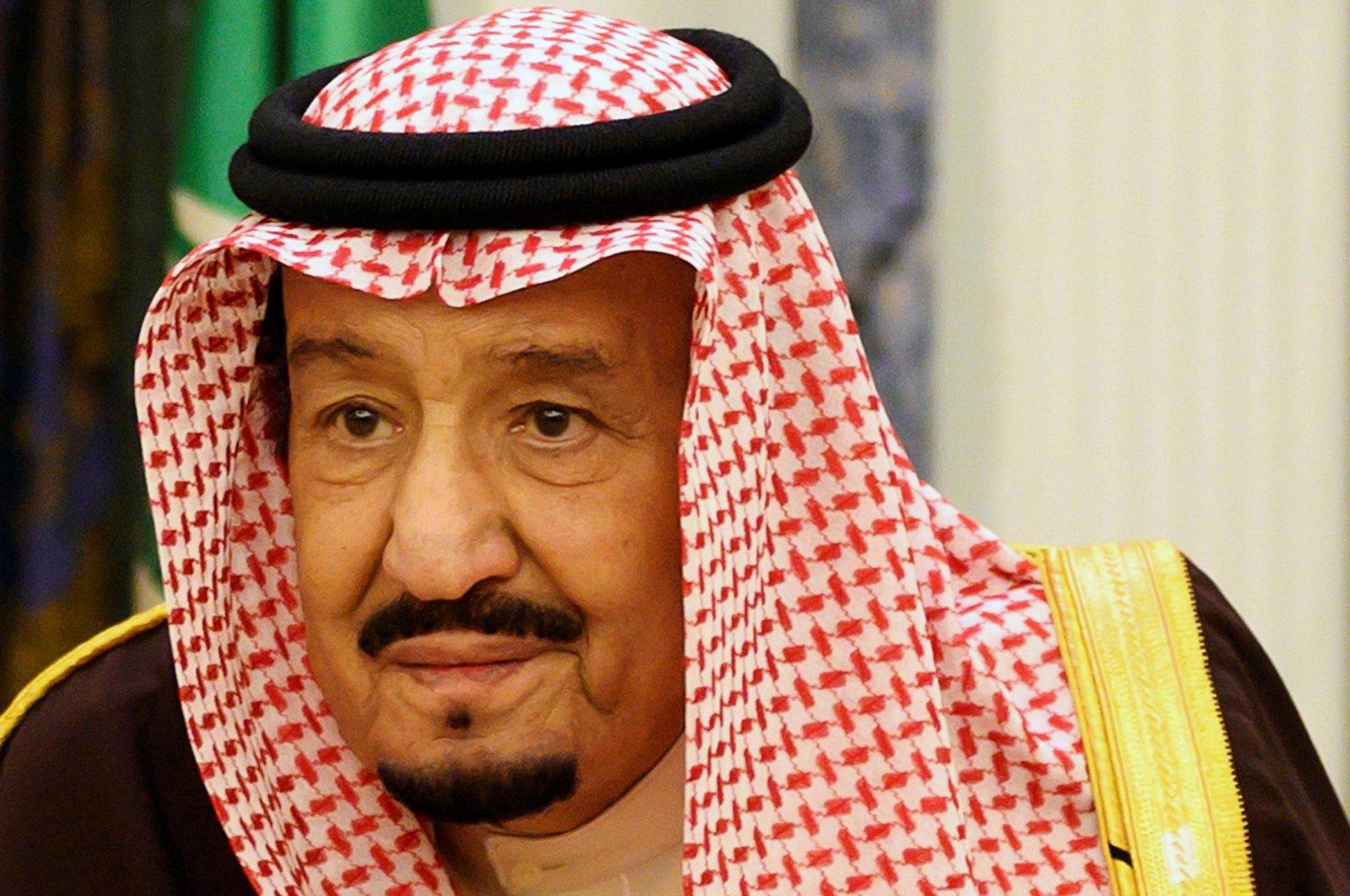 Saudi Arabia's King Salman bin Abdulaziz, Riyadh, Jan. 14, 2019. (REUTERS Photo)