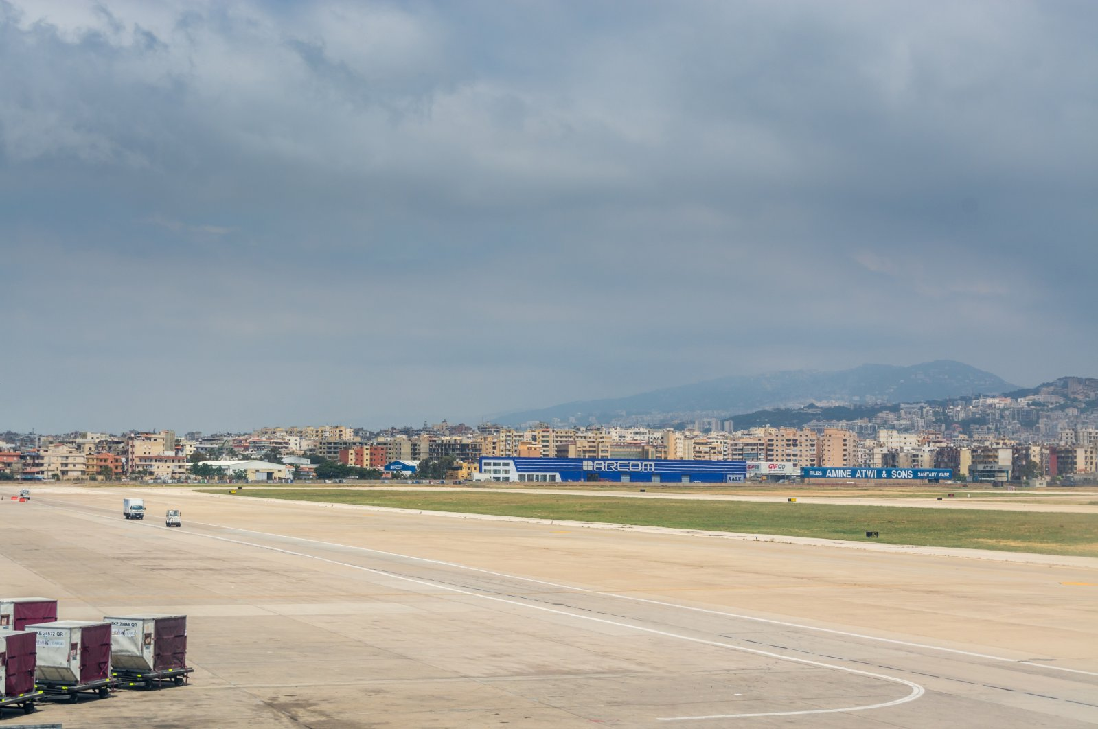 A runway at the Beirut airport. (Shutterstock File Photo)