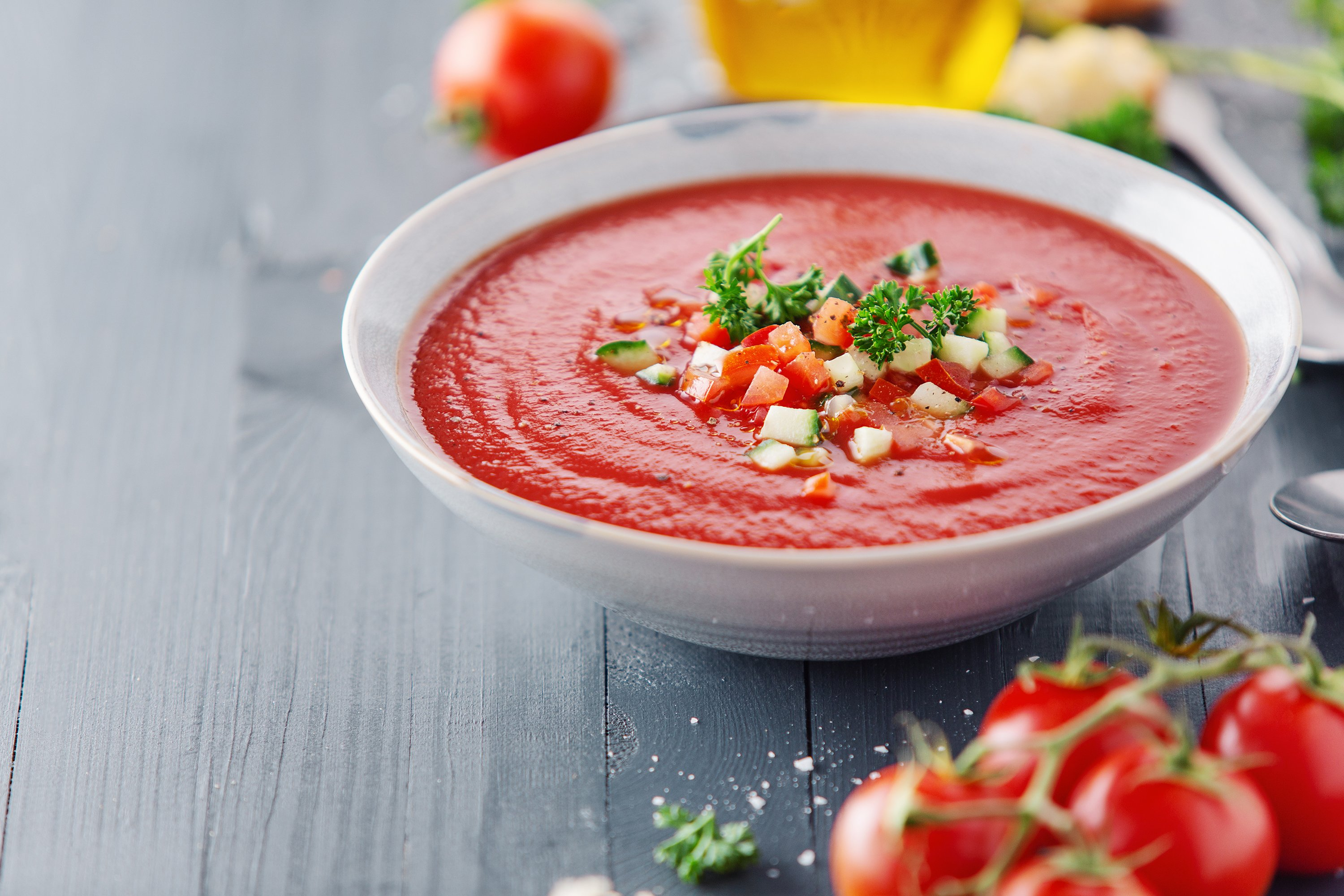 The Spanish were on to something when they came up with gazpacho. (Shutterstock Photo)