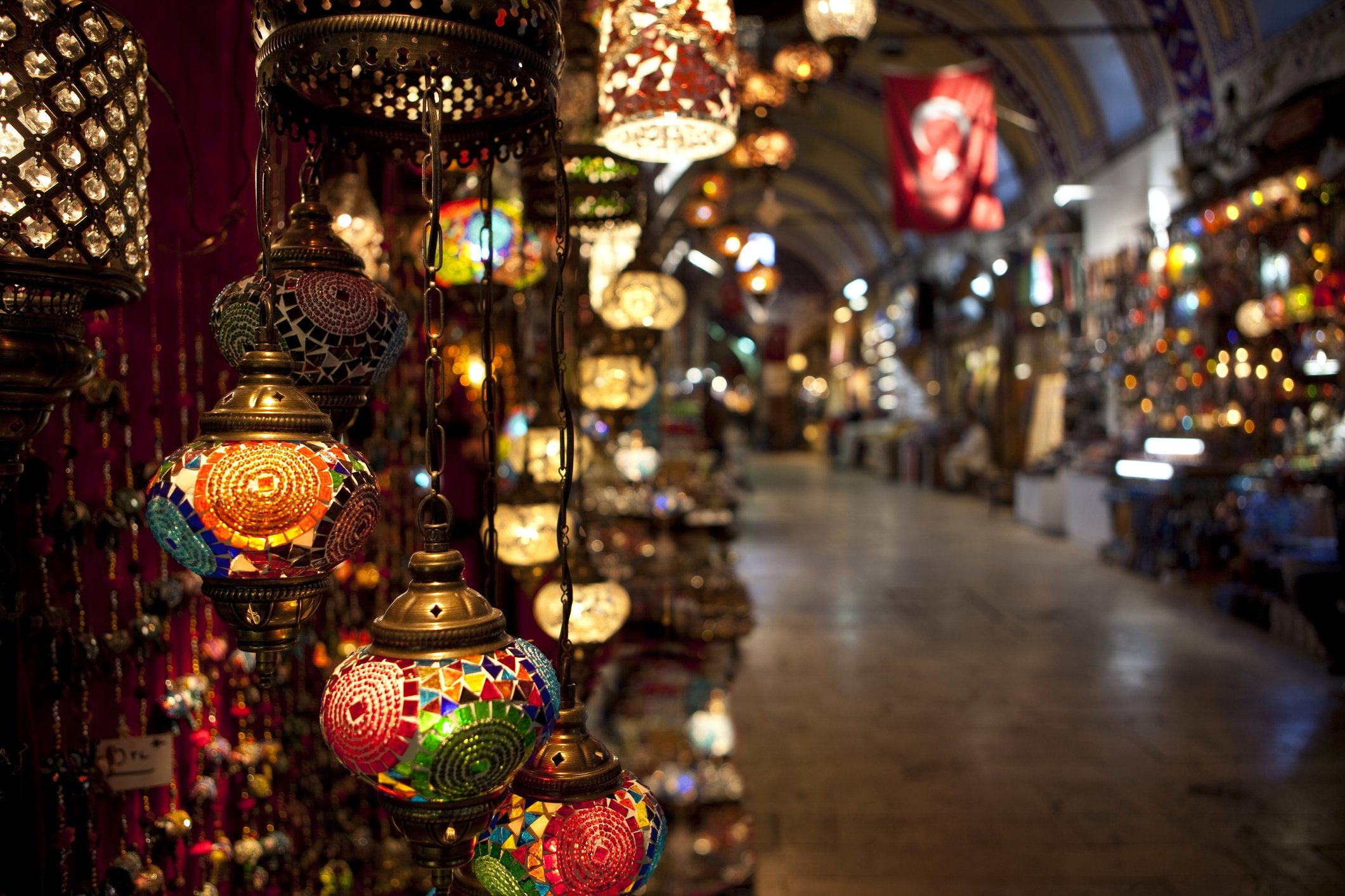 Turkish lamps and lanterns are a great choice for those who want to create a more oriental atmosphere with their decorations. (iStock Photo)