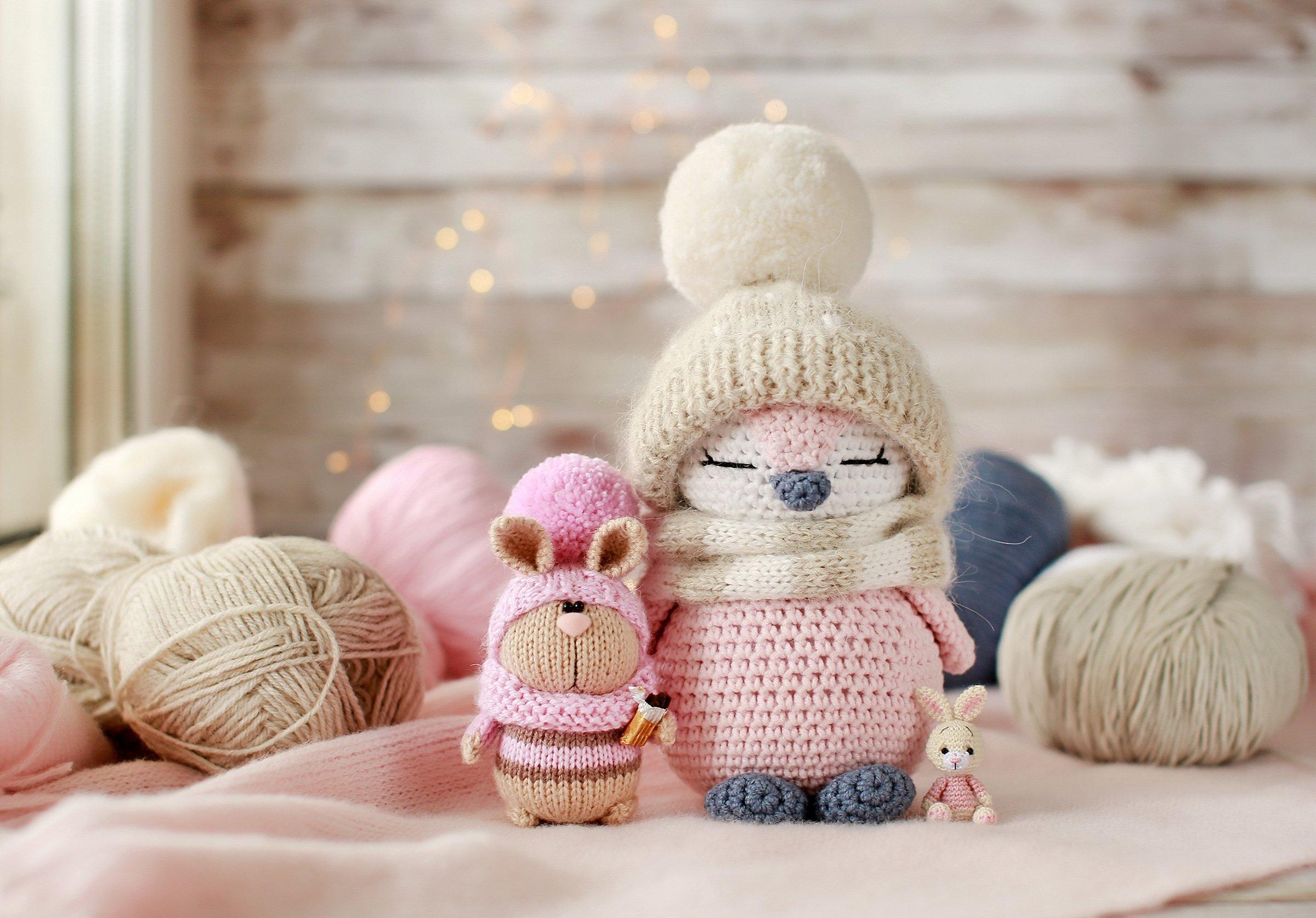 Amigurumi is the Japanese art of crocheting small, stuffed yarn creatures. (Shutterstock Photo)