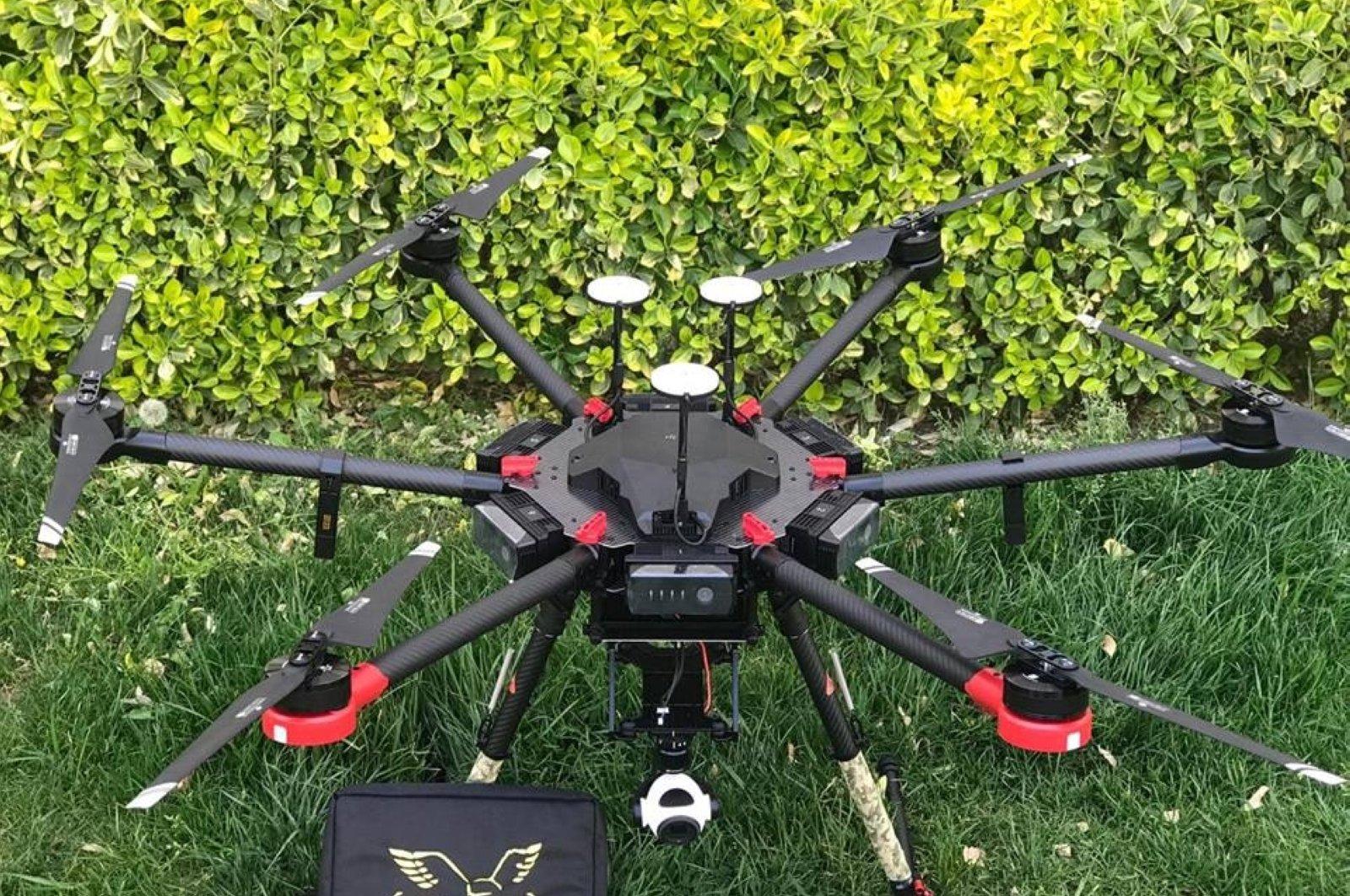The Proton Elıc RB-128 Drone. (Photo courtesy of Assuva Defense)