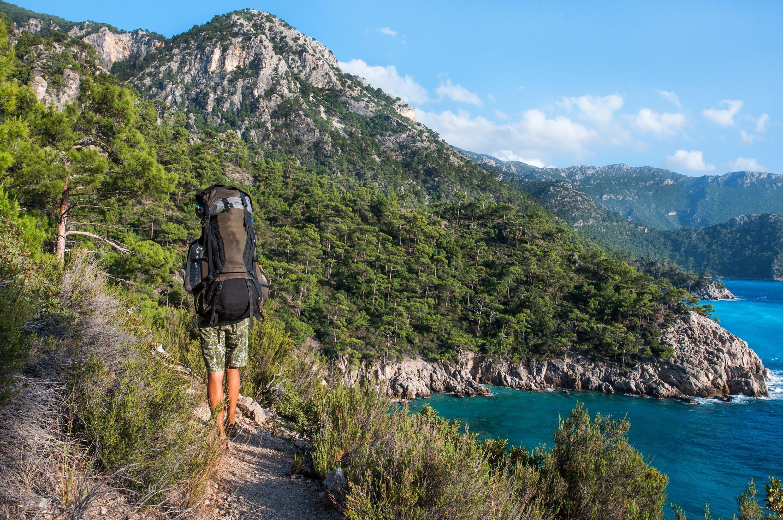 Lycian Way gir en av de mest naturskjønne rutene i Tyrkia for backpackere.  (iStock Photo)