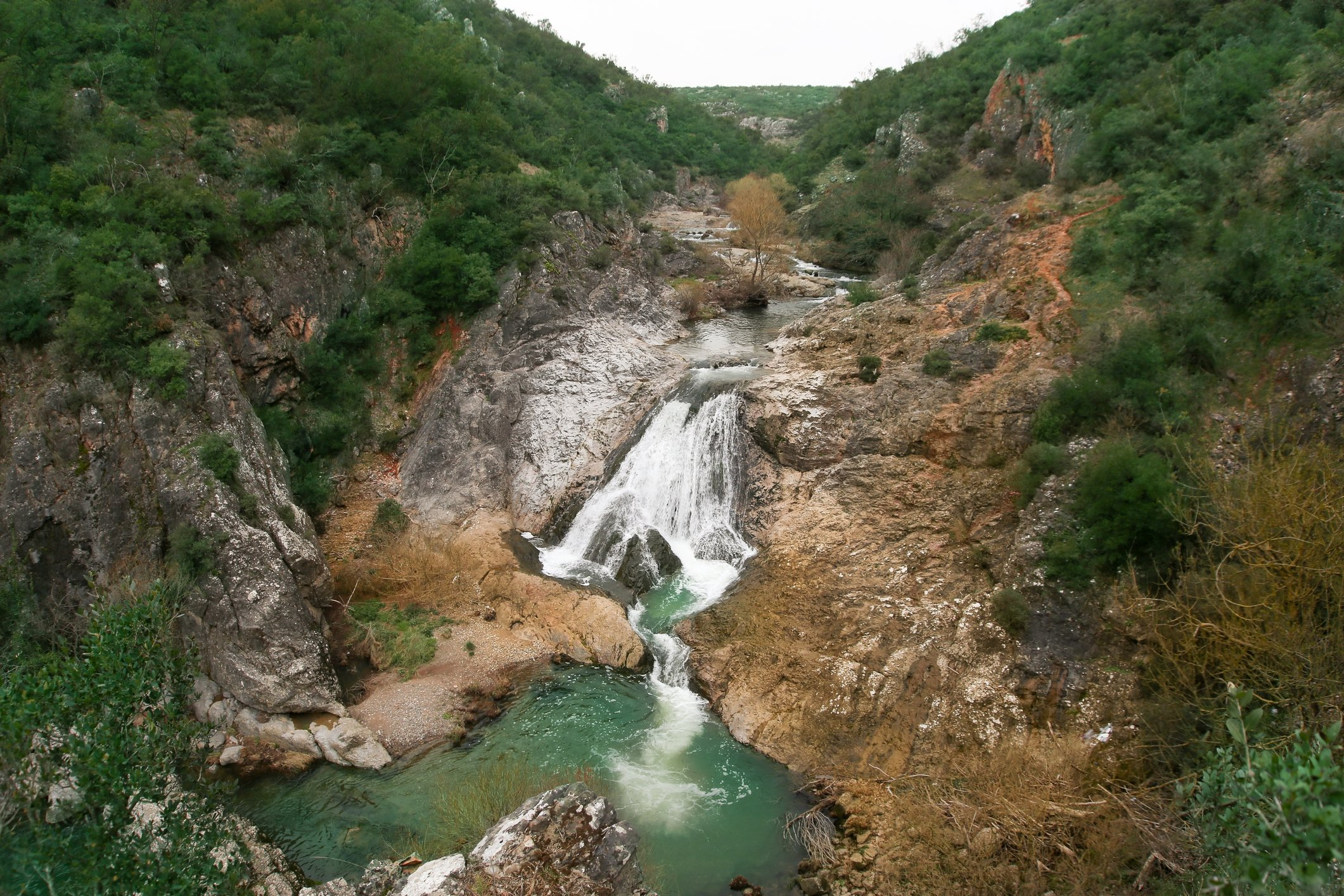 Fossen ved Ballıkayalar Canyon i nordvestlige Kocaeli-provinsen gir en flott foto-op.  (iStock Photo)