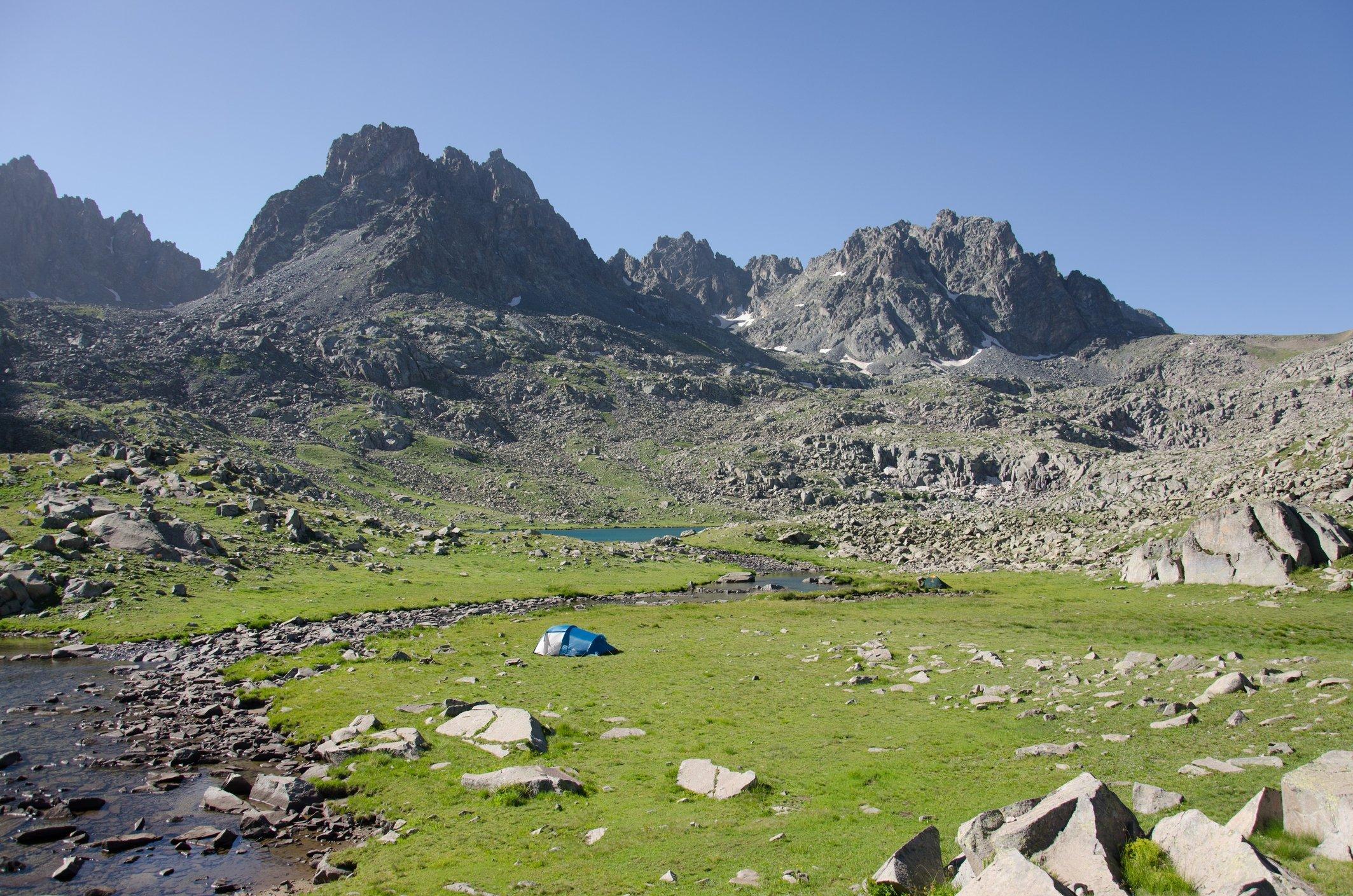 Å campe i Kaçkar-fjellene i Svartehavsregionen er en flott måte å unnslippe sommervarmen.  (iStock Photo)