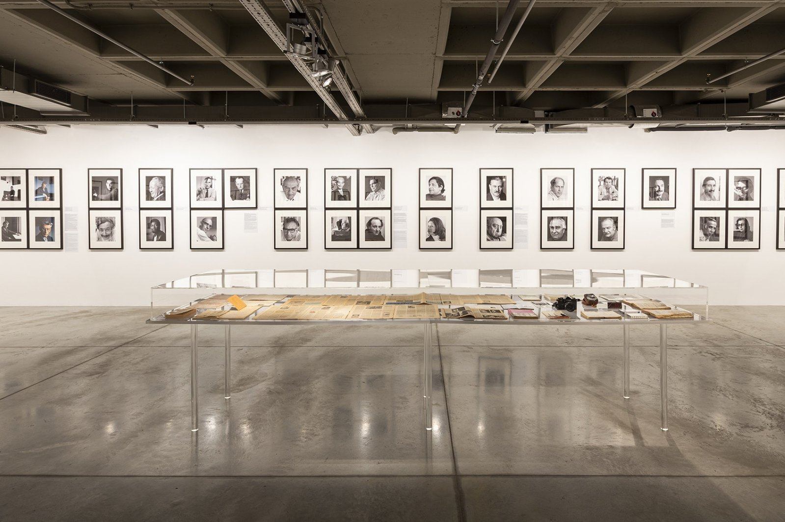 A collection of portrait photographs by Lütfi Özkök is on show at Istanbul Modern. (Courtesy of Istanbul Modern)