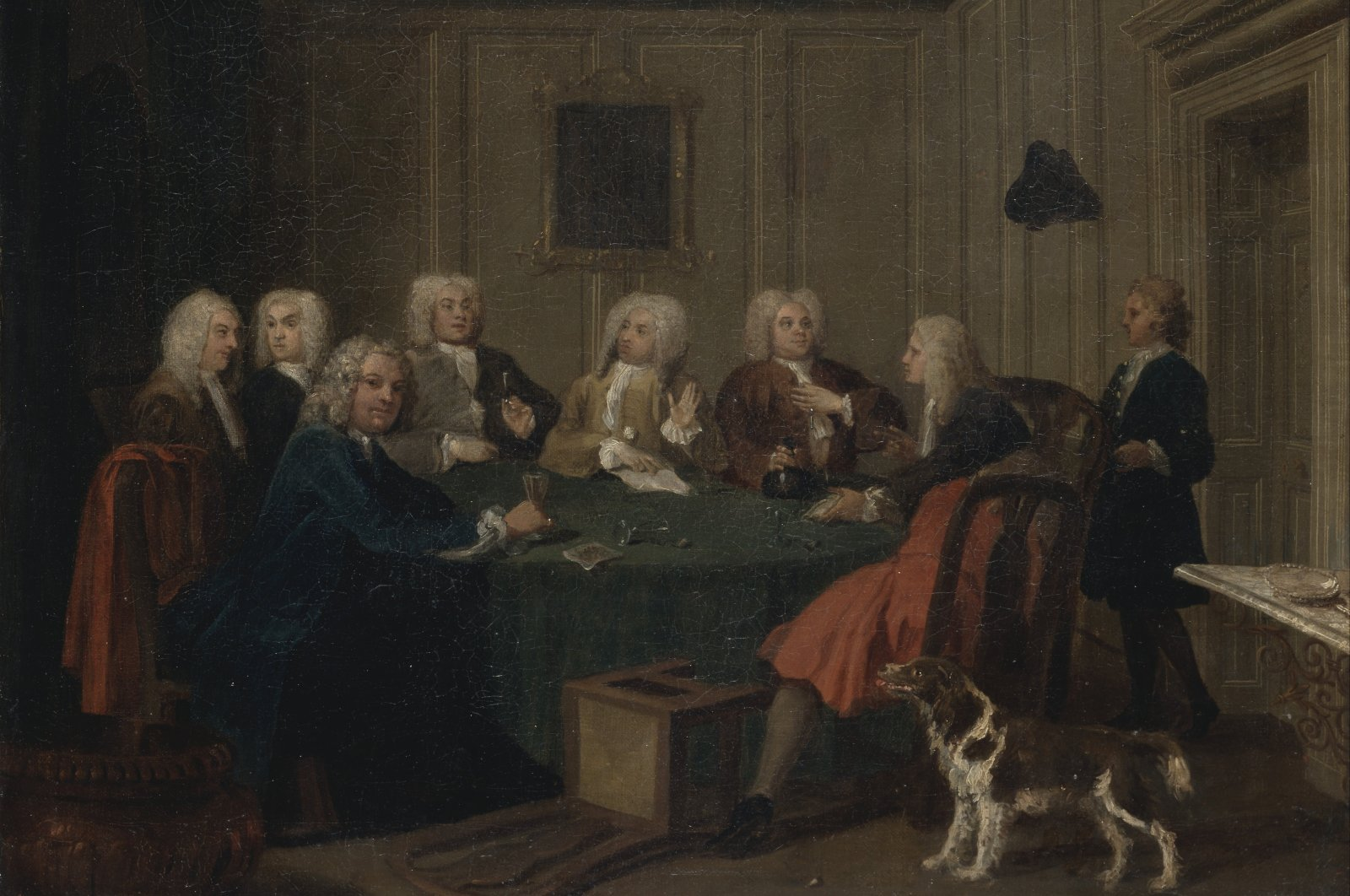 A Club of Gentlemen by Joseph Highmore (1692–1780), oil on canvas, circa 1730. (via WIKIMEDIA COMMONS)