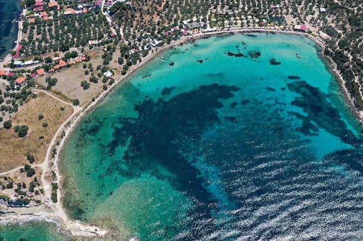 Domestic demand dominates tourism on the Mediterranean and Aegean coastline. (AA Photo)